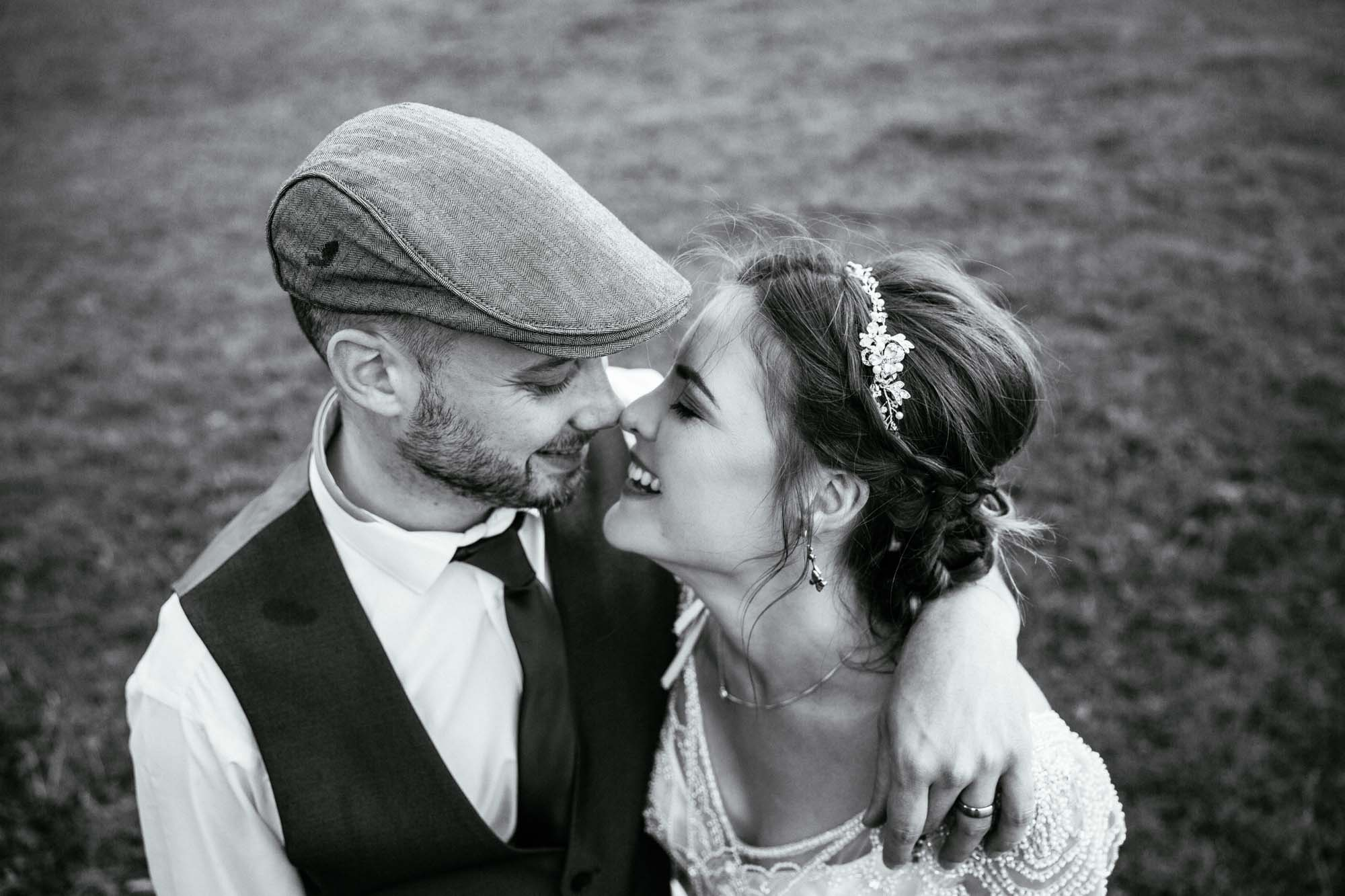 Quirky Wedding Photos Hargate Hall Peak District