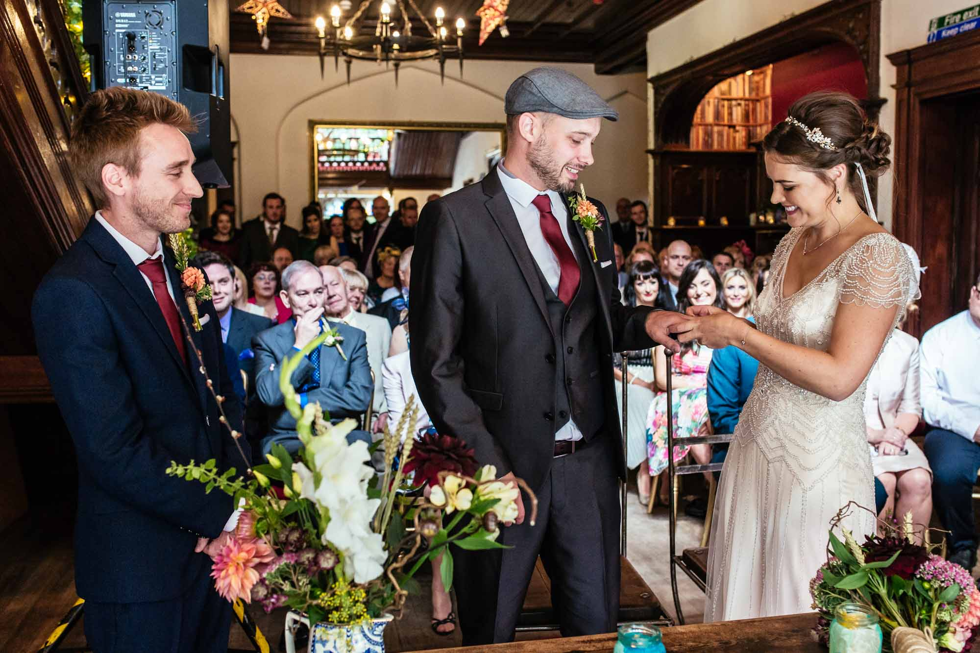 Wedding Ceremonies Hargate Hall Peak District