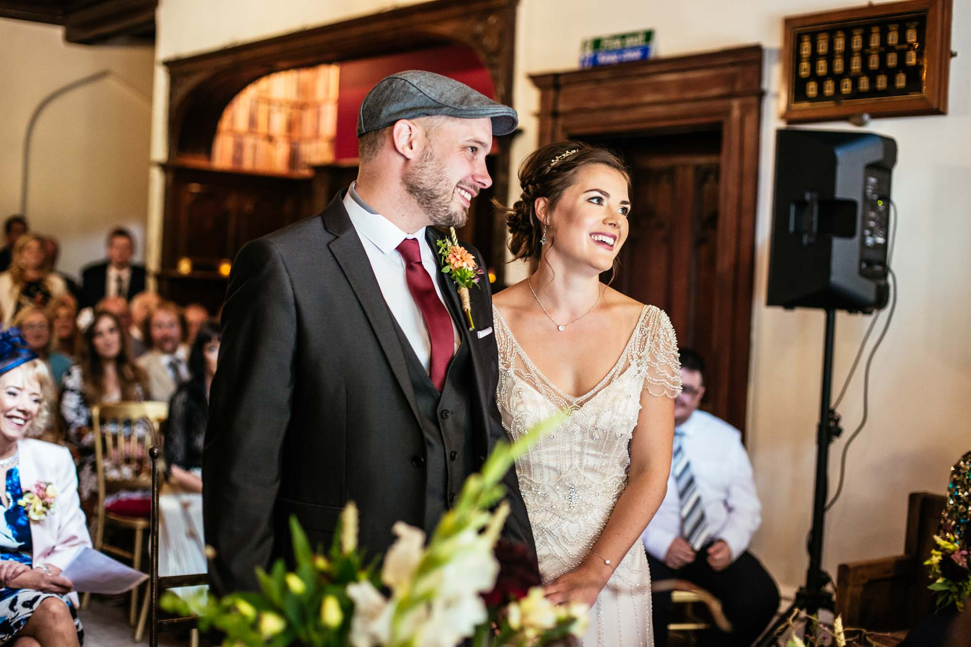 Wedding Ceremony Hargate Hall Peak District