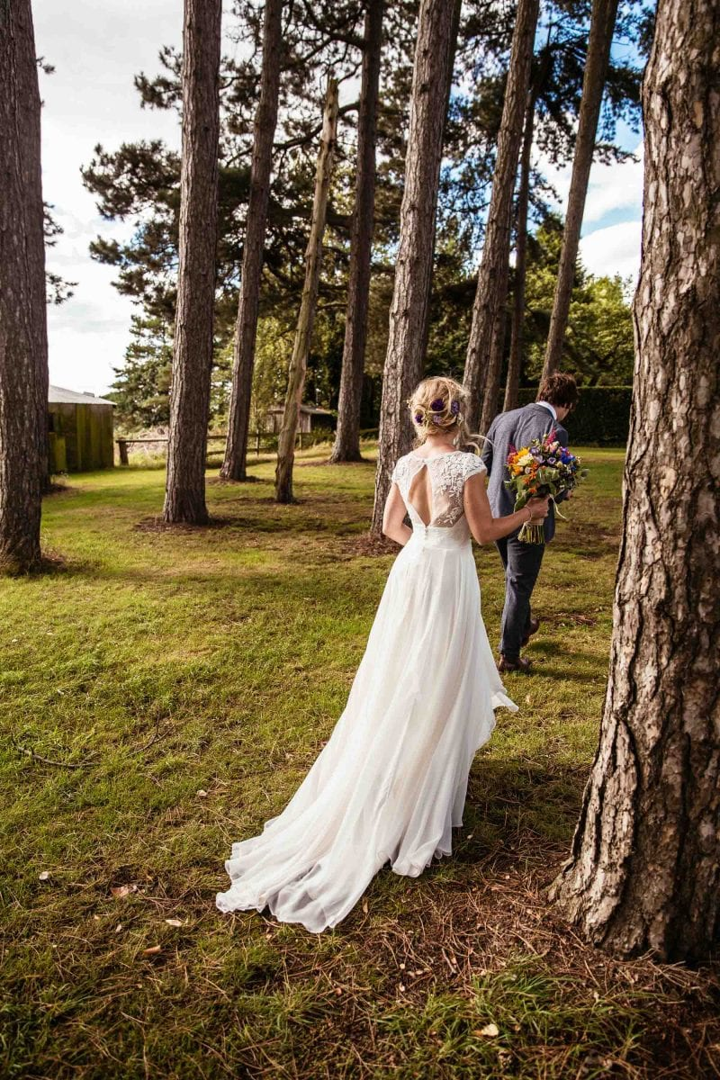Alternative Barn Wedding Photographs