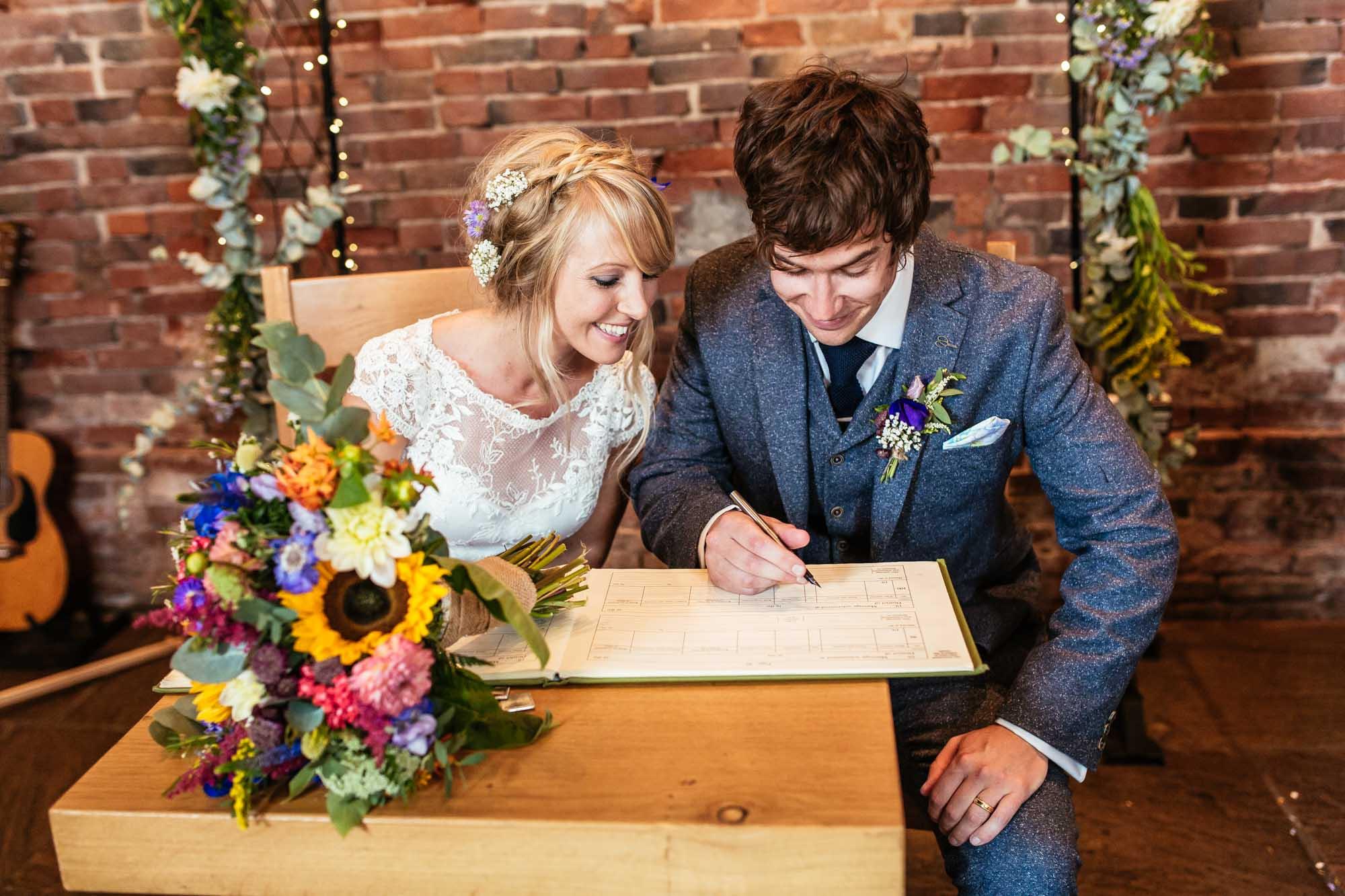 Barn Wedding Ceremonies