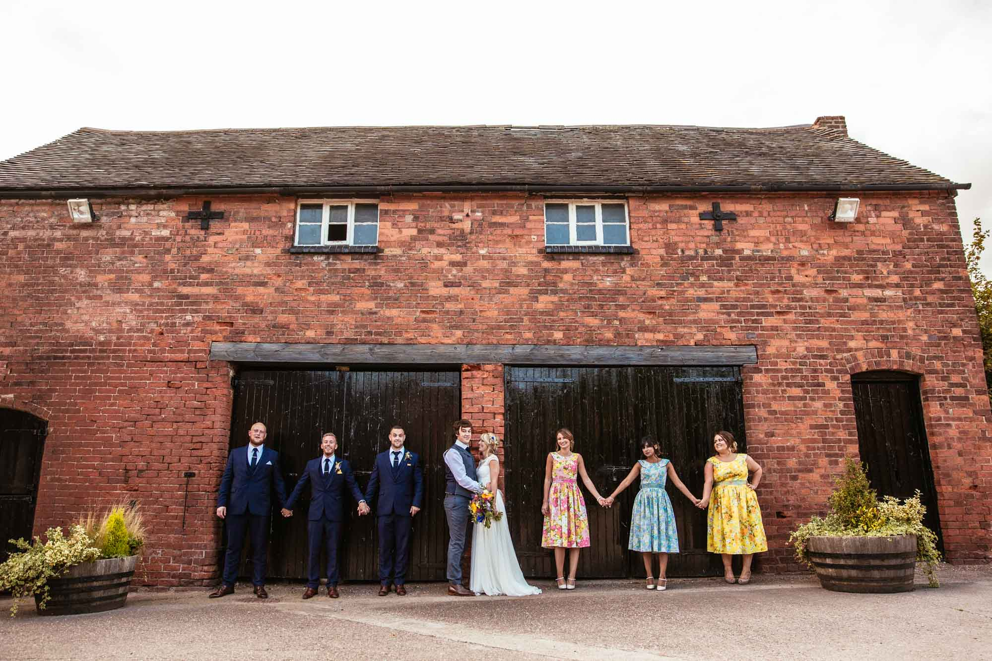 Colourful Alternative Wedding Photography