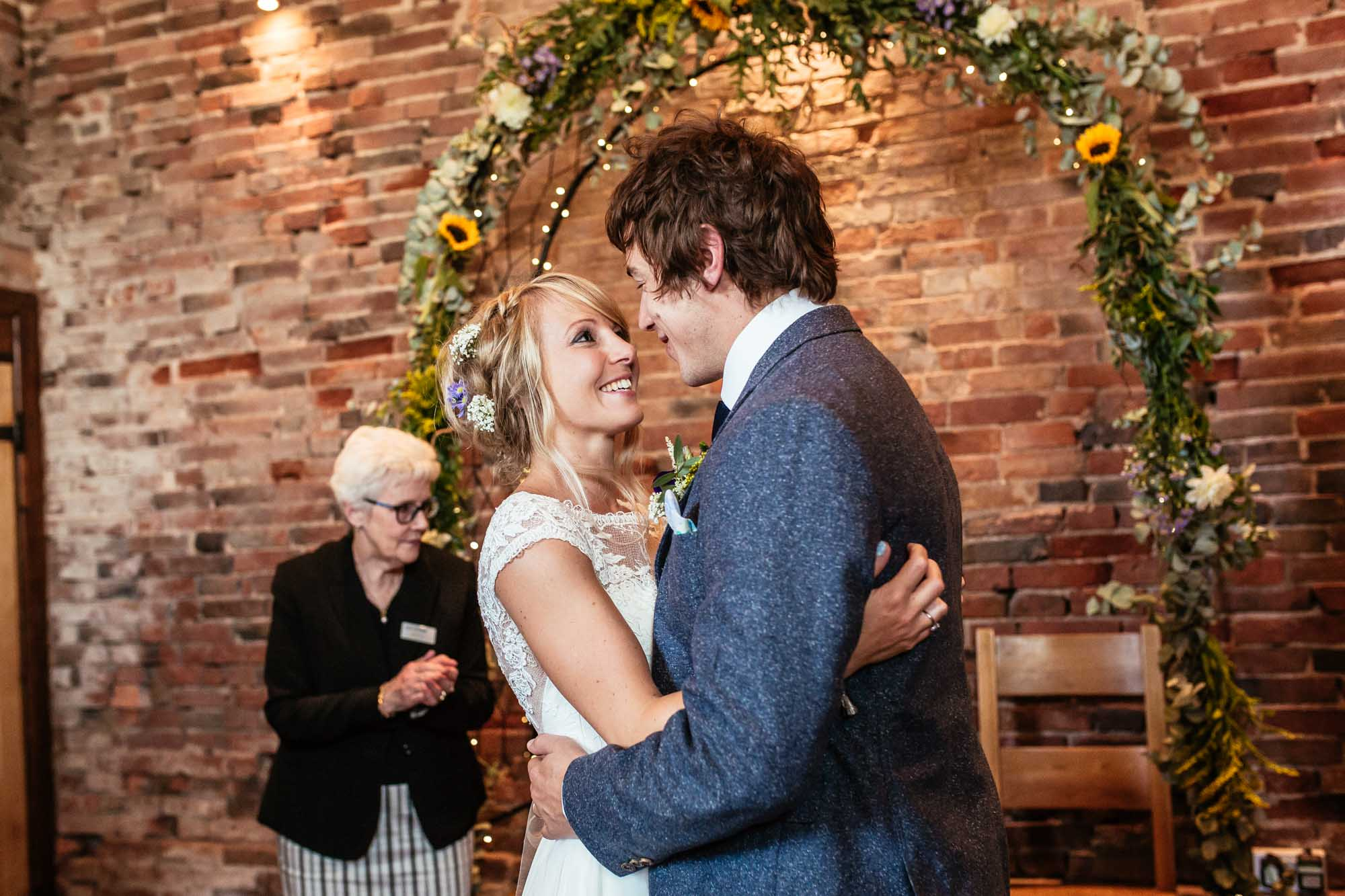 Colourful Barn Wedding Ceremonies
