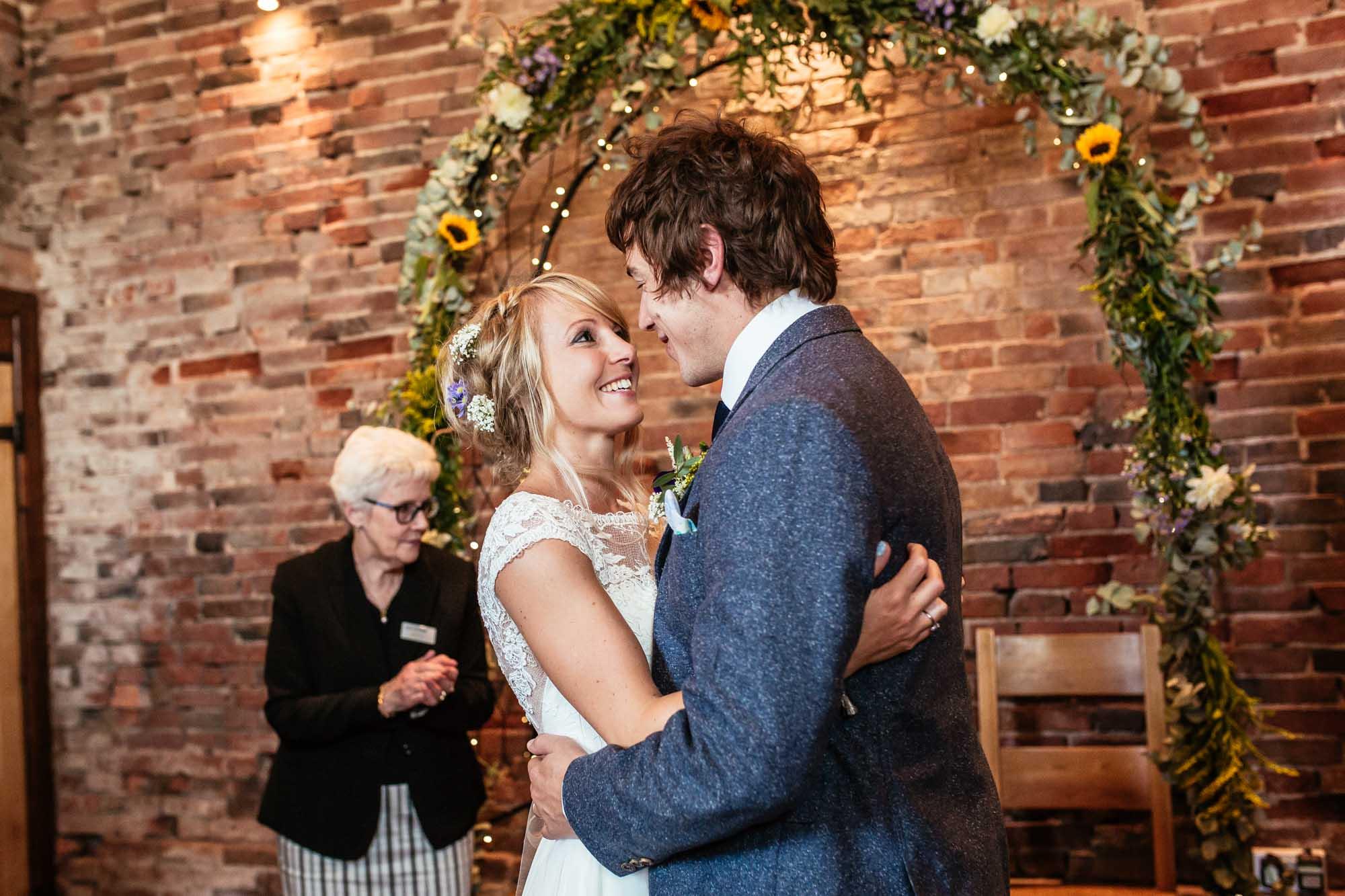 Colourful Barn Wedding Ceremonies