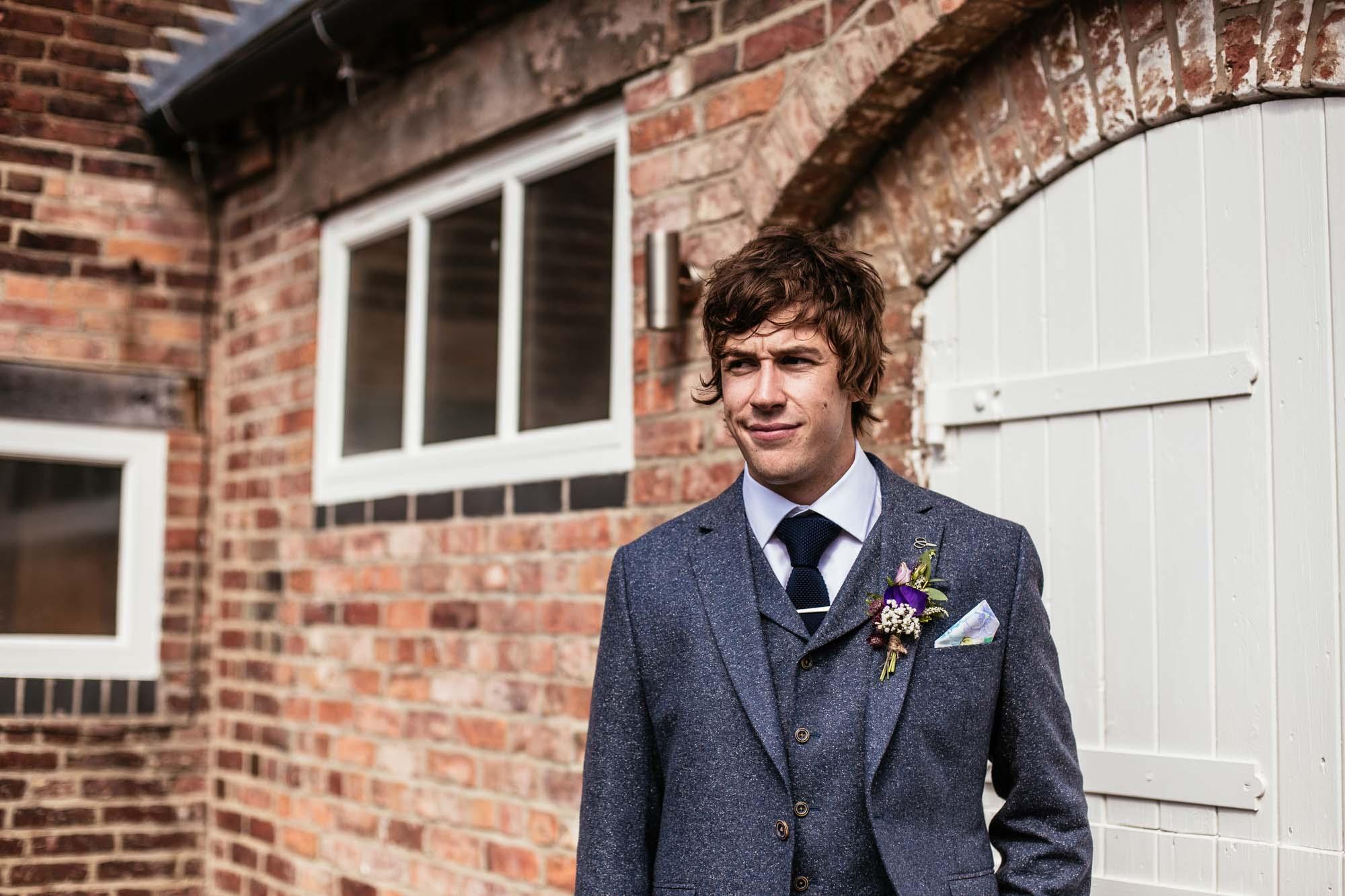 Colourful Barn Wedding Photographer