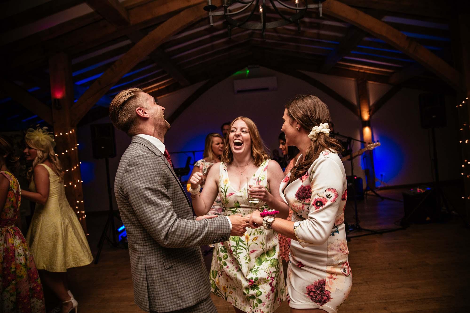 Colourful Fun Wedding Photography
