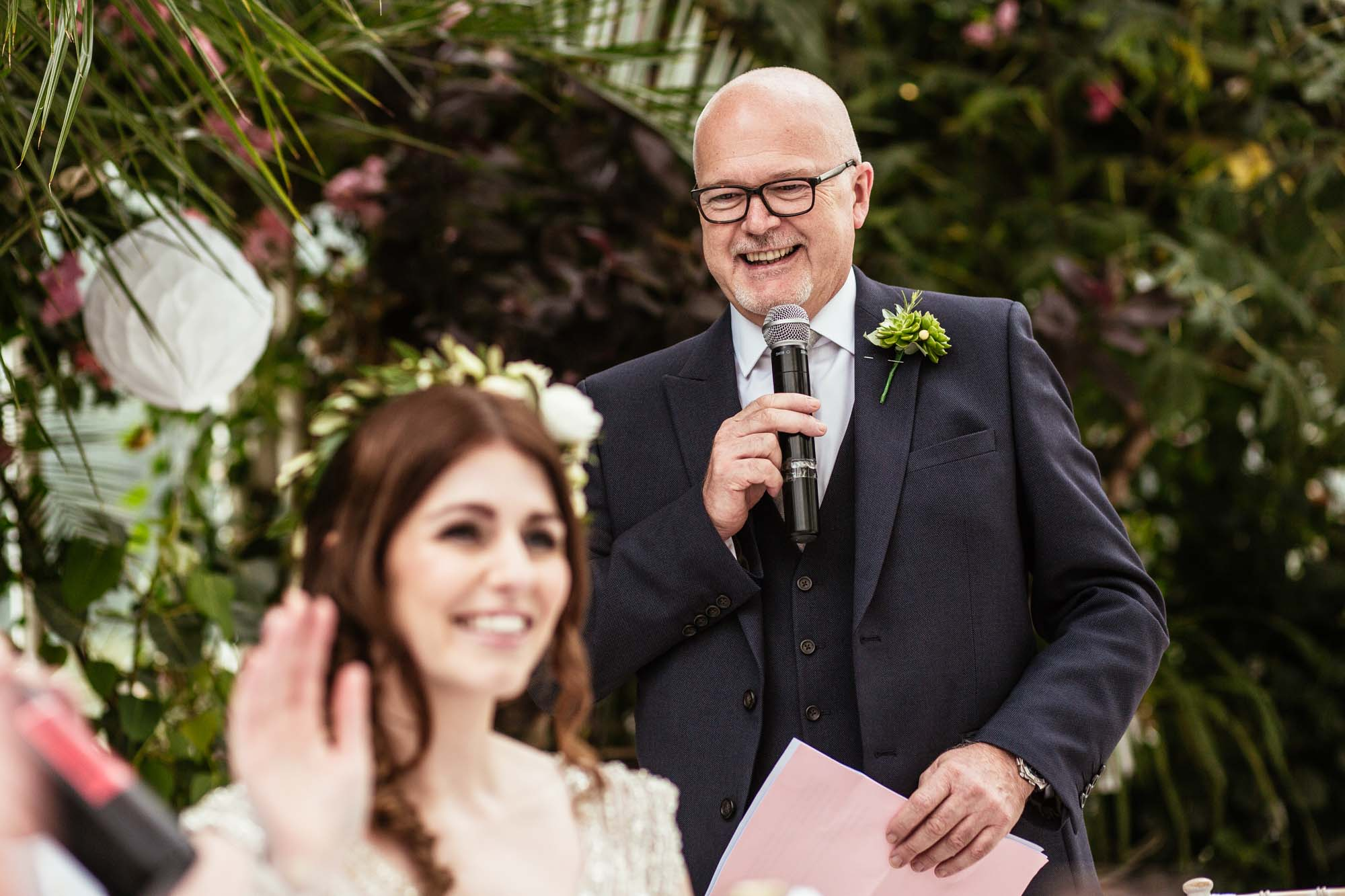 Creative Wedding Photographer Sefton Park Palm House