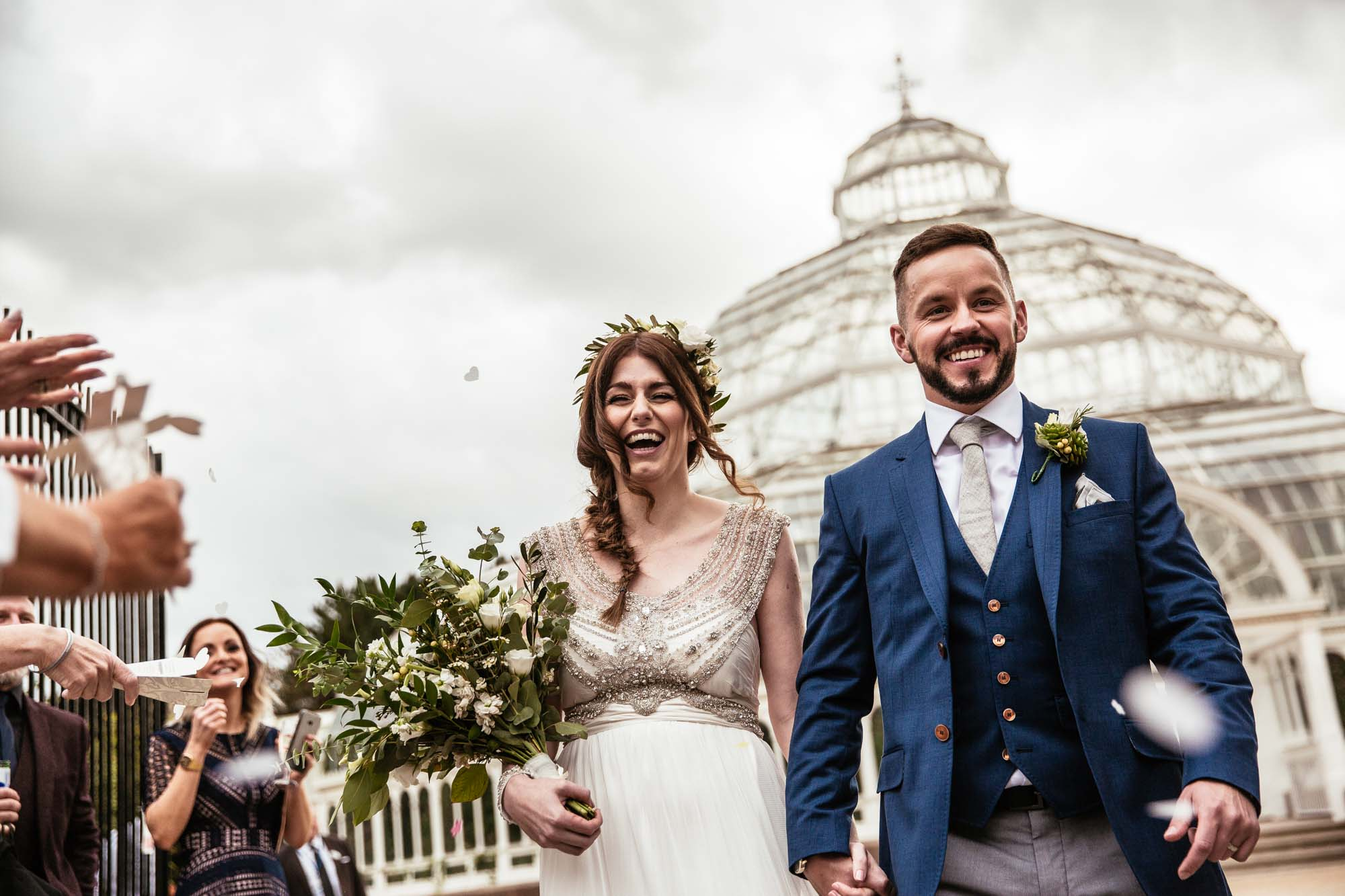 Palm House Sefton Park Confetti Photographs