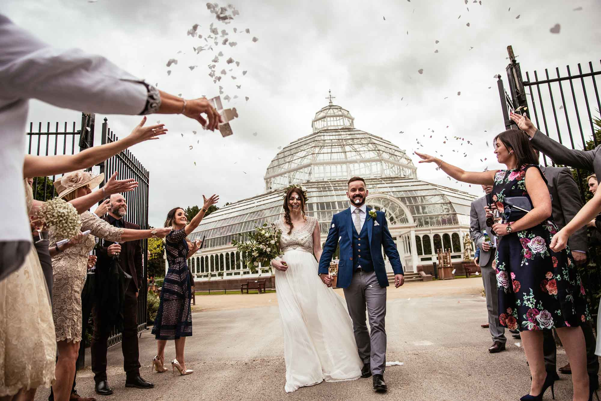 Palm House Sefton Park Confetti Photos