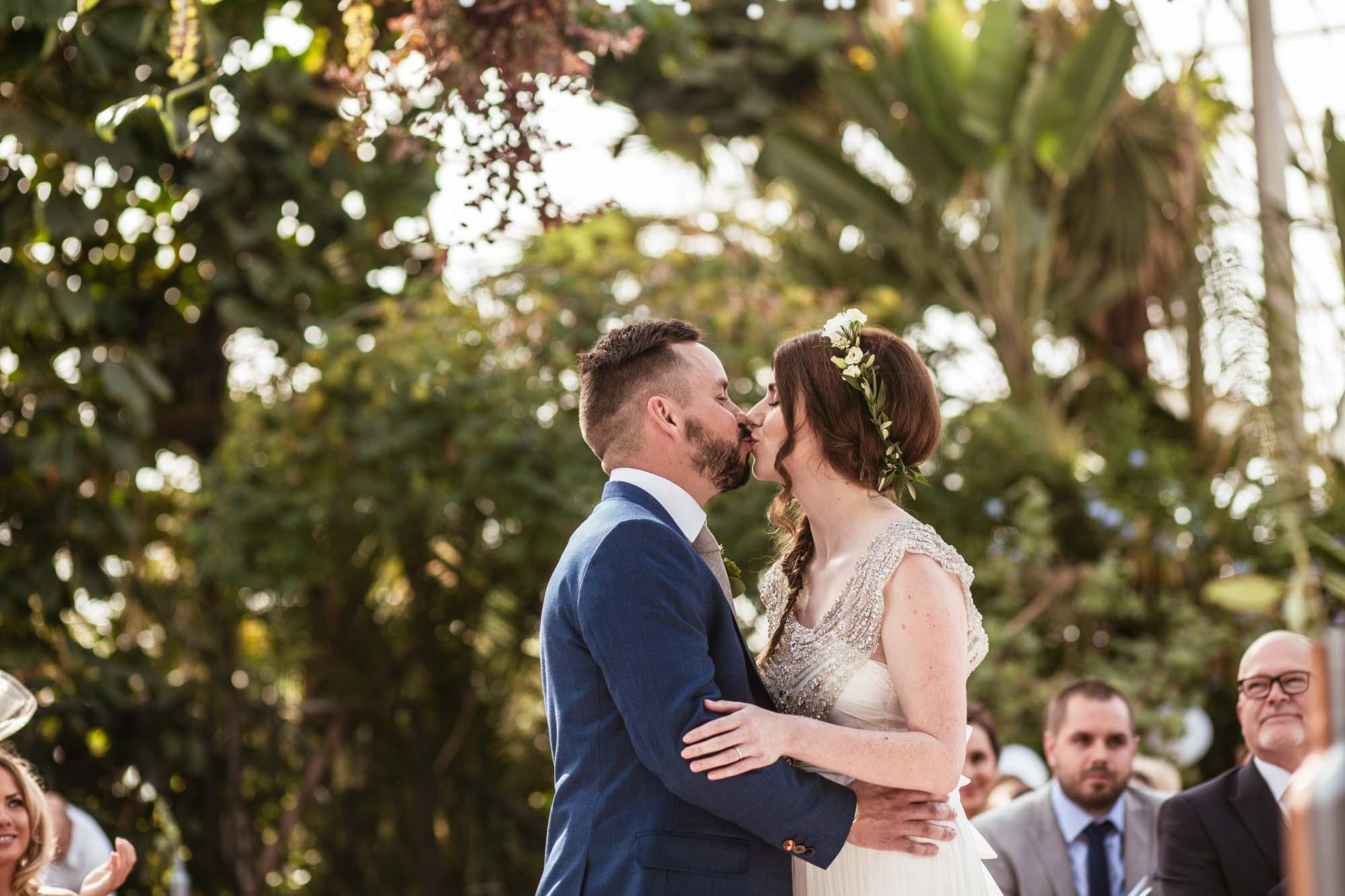 Palm House Sefton Park Wedding Ceremony Photos