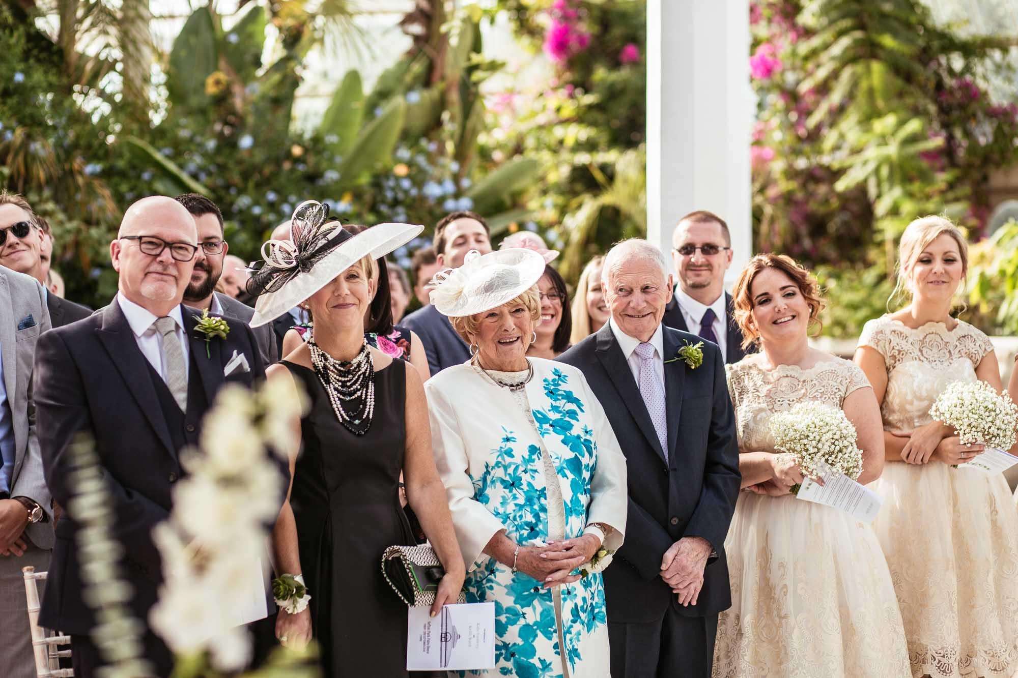 Palm House Sefton Park Wedding Ceremony