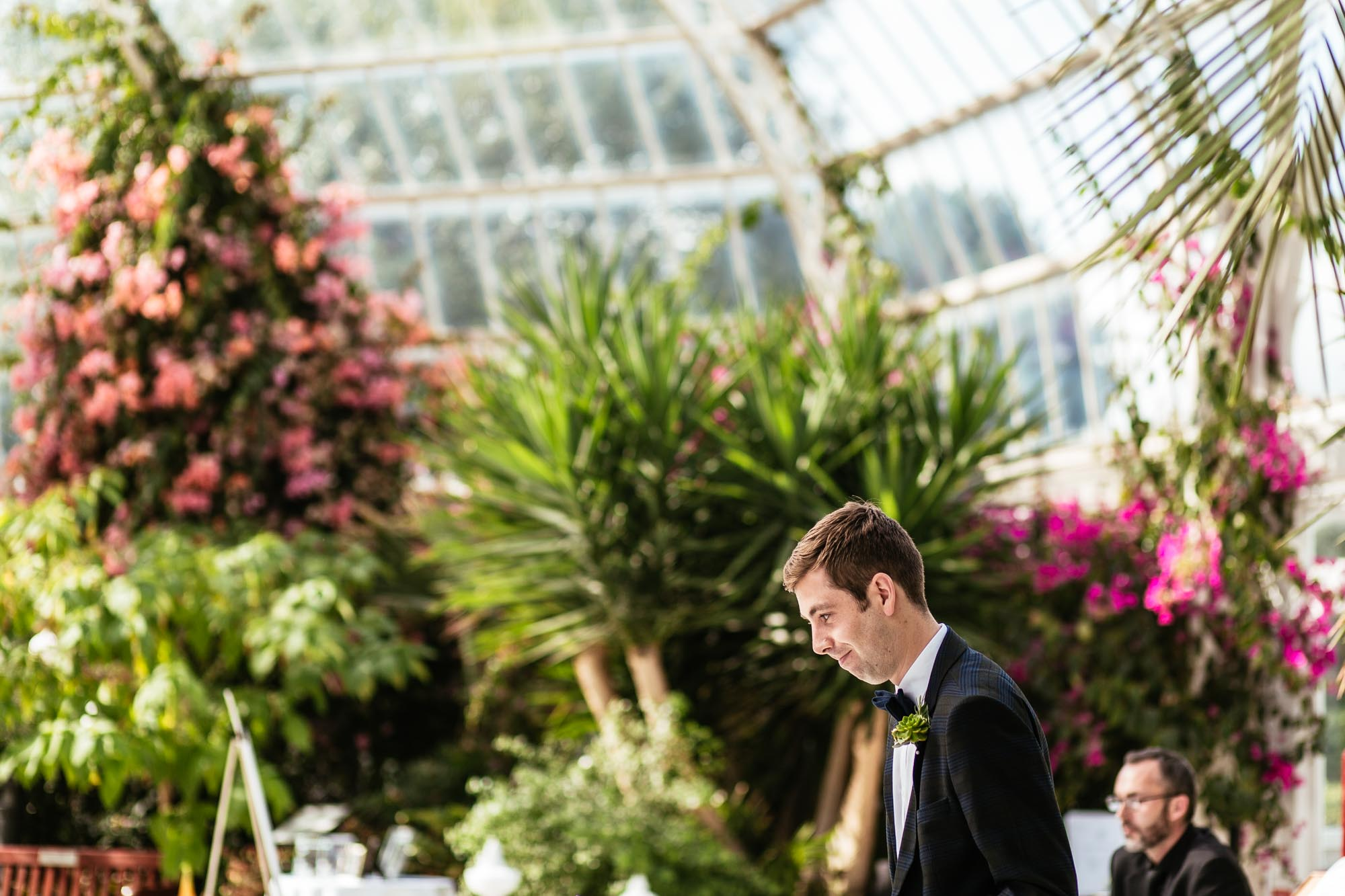 Palm House Sefton Park Wedding Photographer
