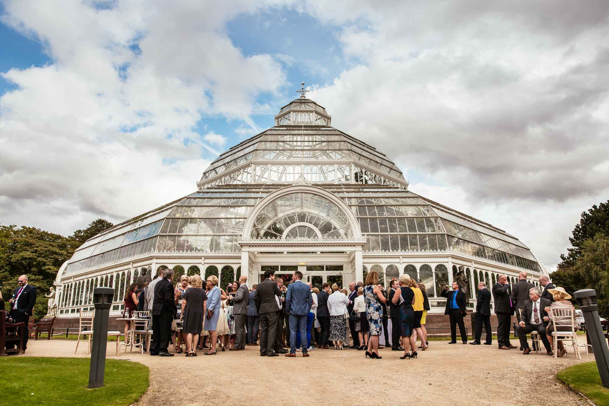 Palm House Sefton Park Wedding Reception Photographs