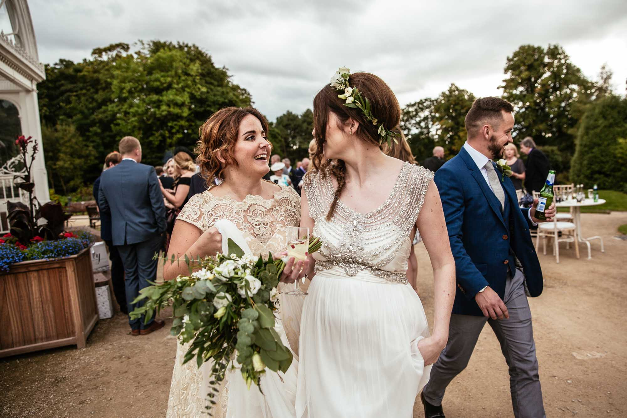 Palm House Sefton Park Wedding Reception Photos