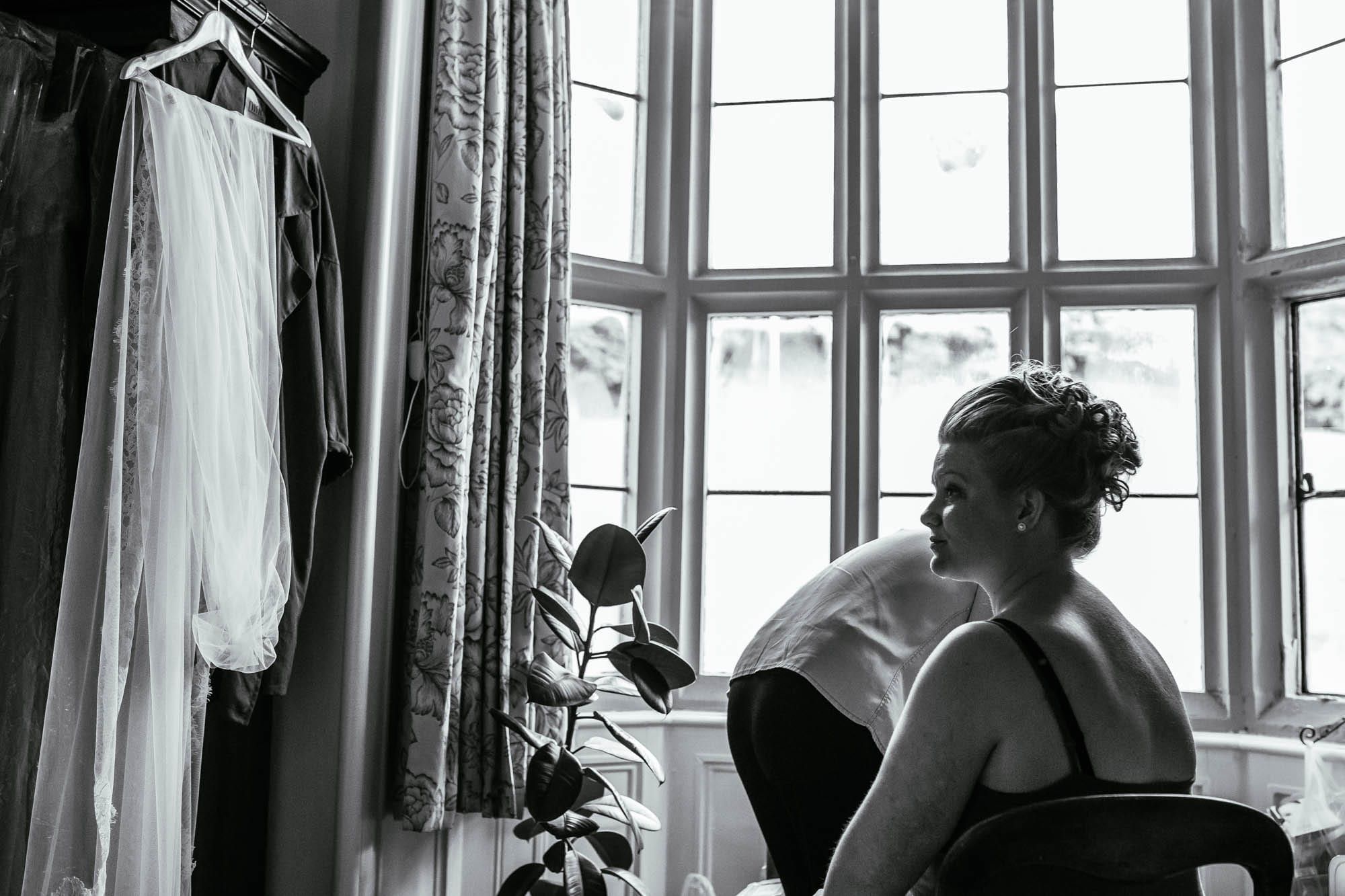 Creative Wedding Photographer Cressbrook Hall