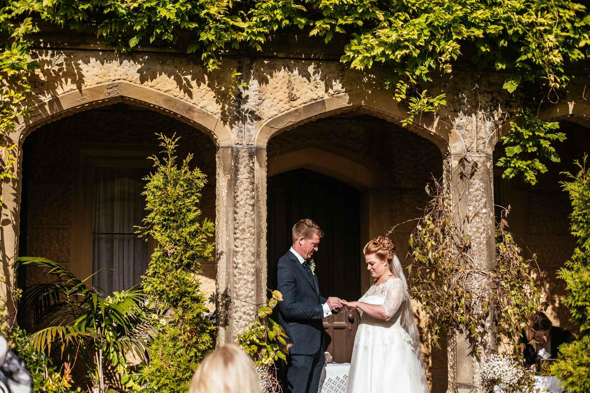 Cressbrook Hall Wedding Ceremony Photography