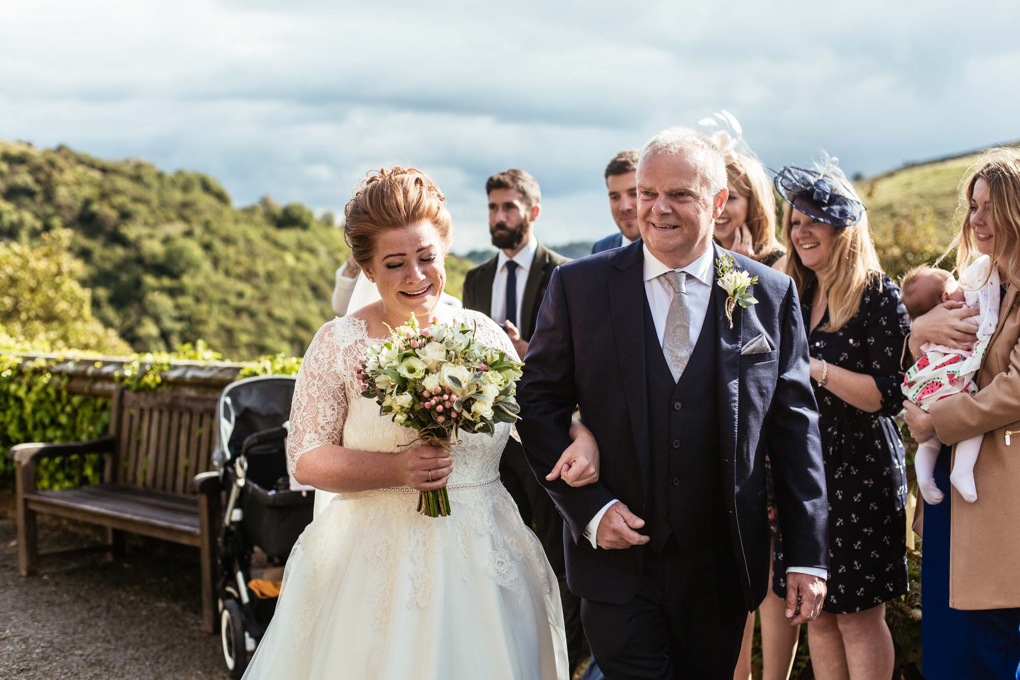 Cressbrook Hall Wedding Ceremony