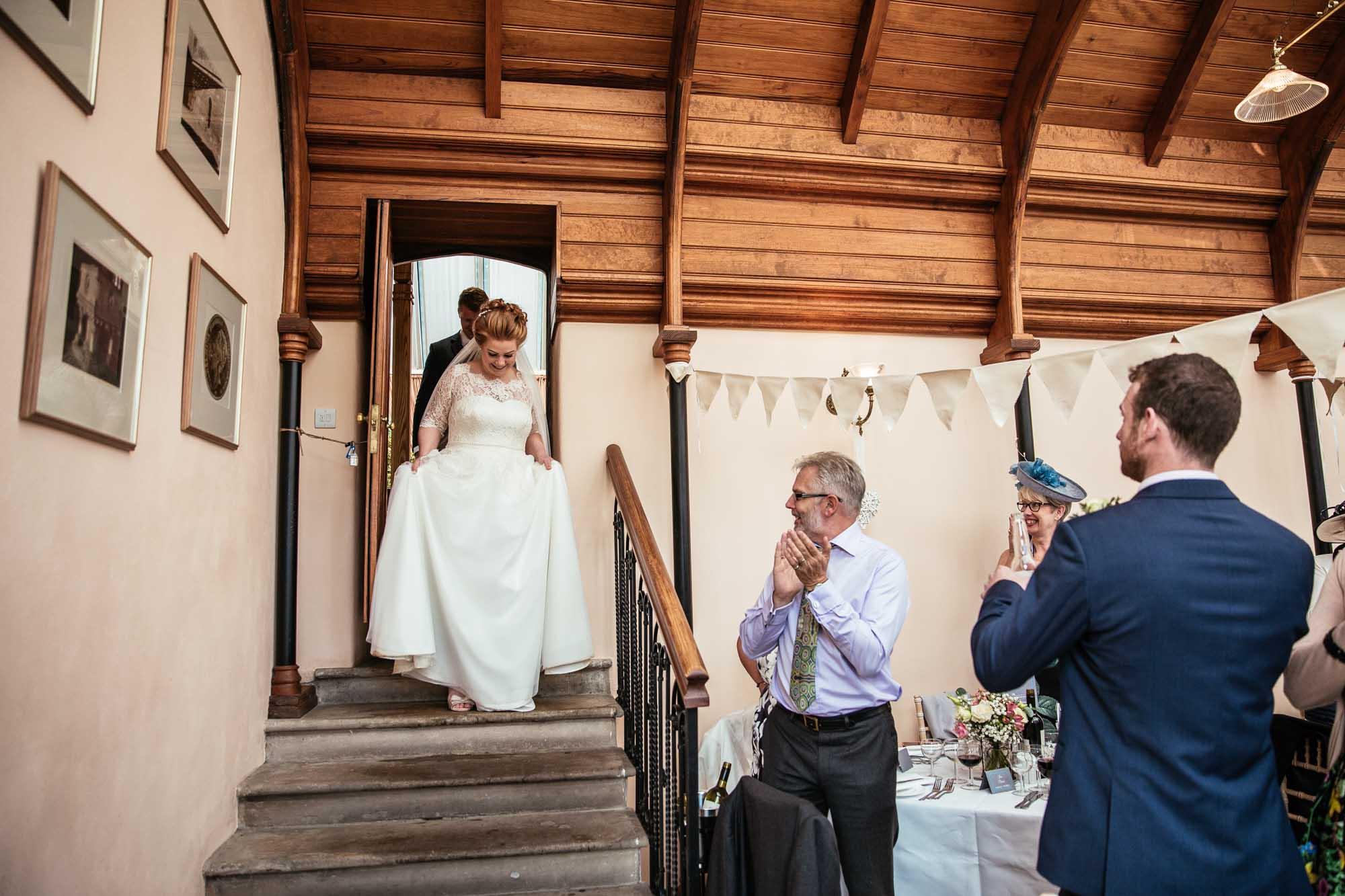 Cressbrook Hall Wedding Receptions Photographs