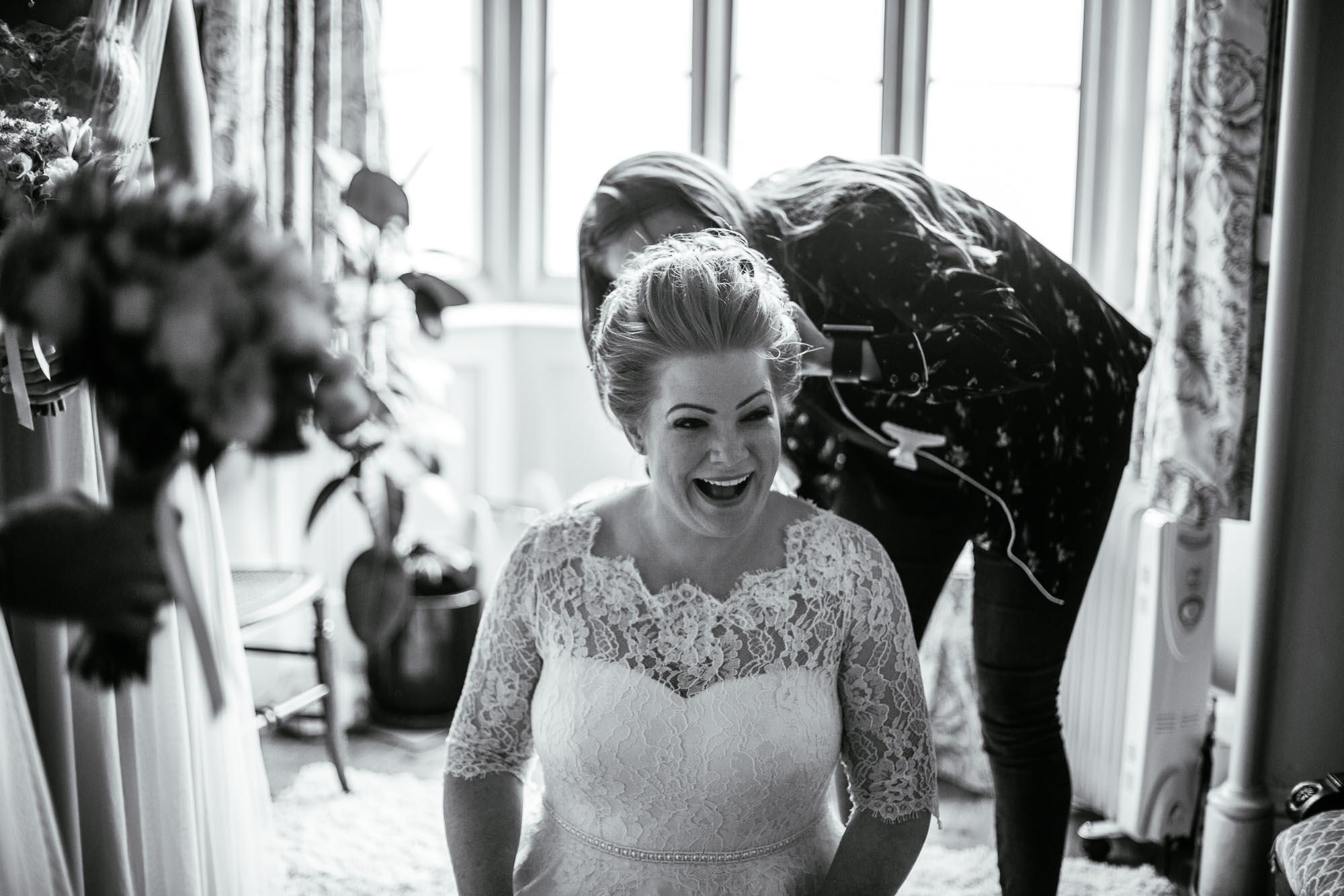 Documentary Wedding Photographer Cressbrook Hall