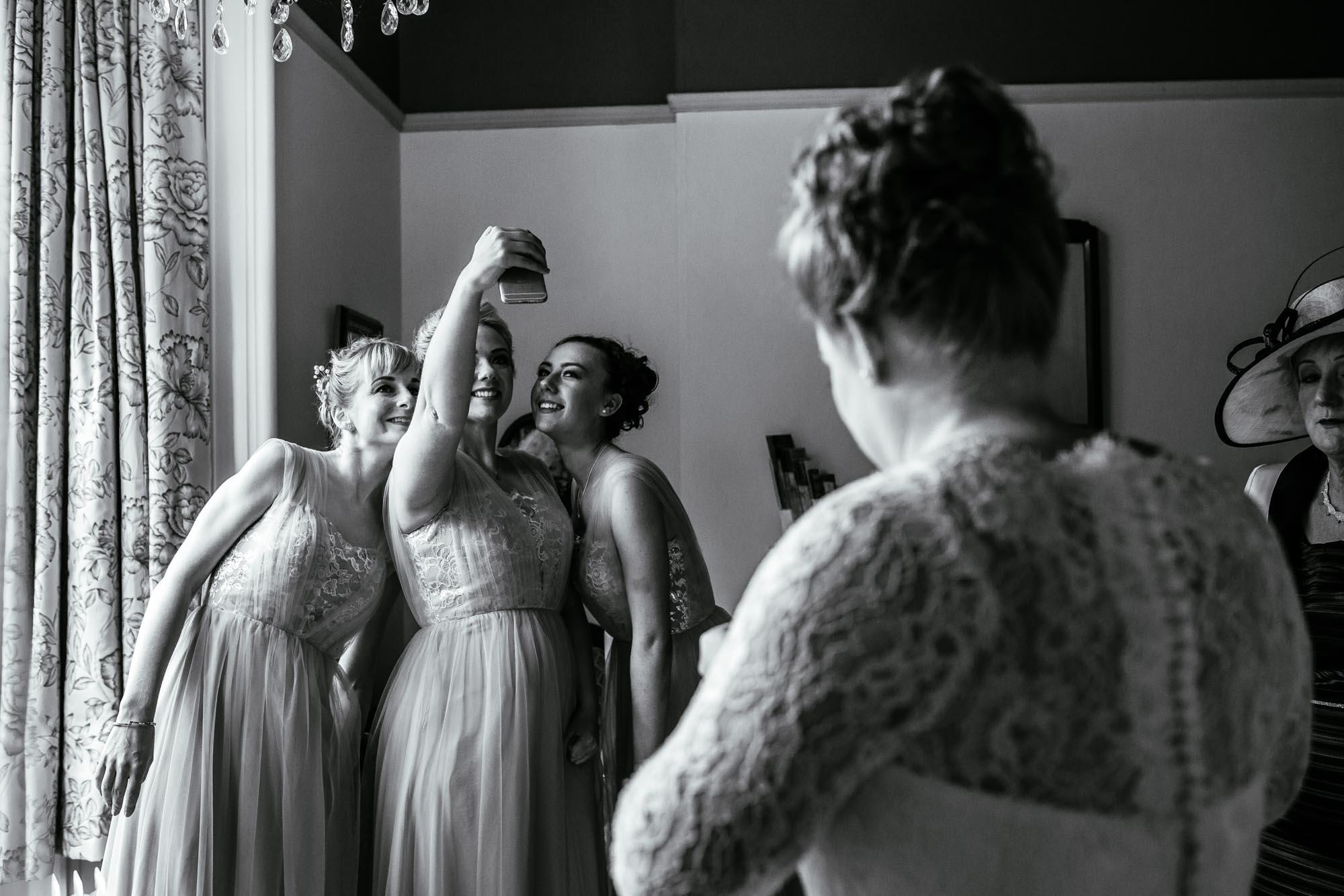 Documentary Wedding Photographs Cressbrook Hall