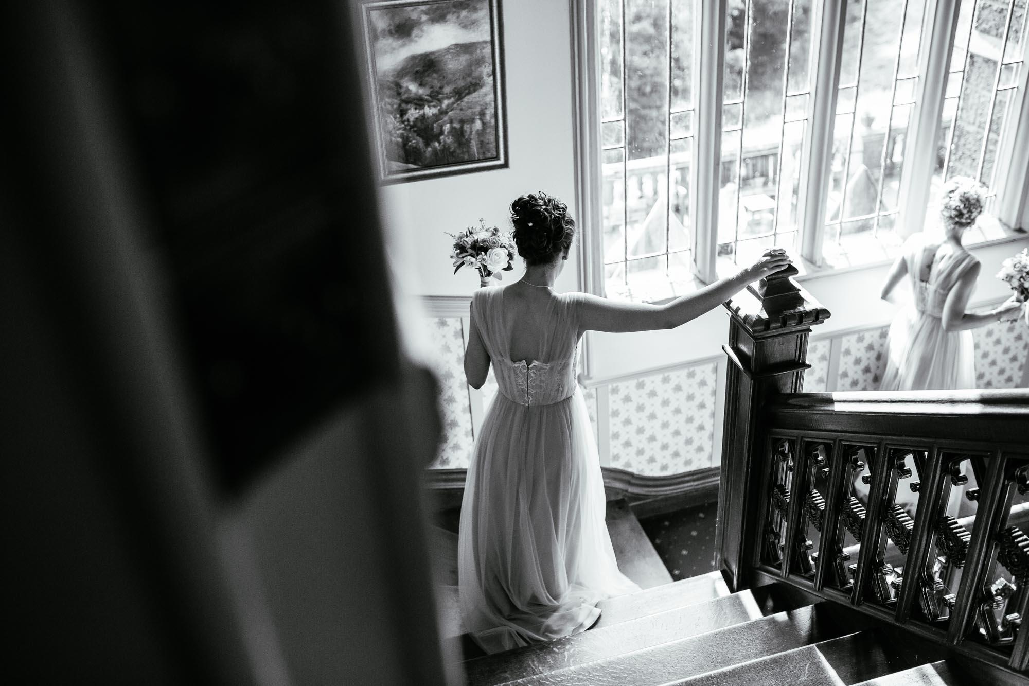 Documentary Wedding Photos Cressbrook Hall