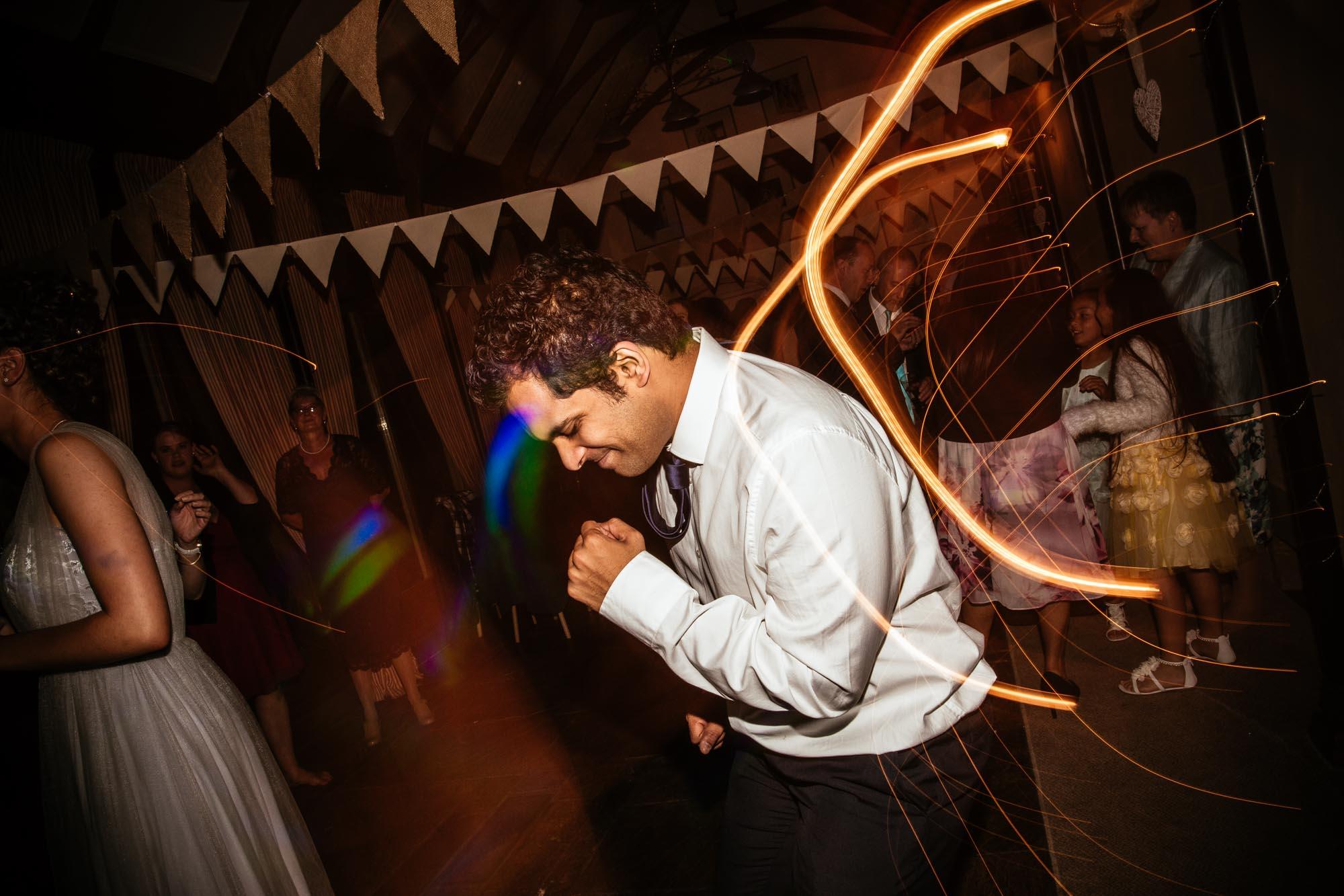 Fun Wedding Photographs Cressbrook Hall
