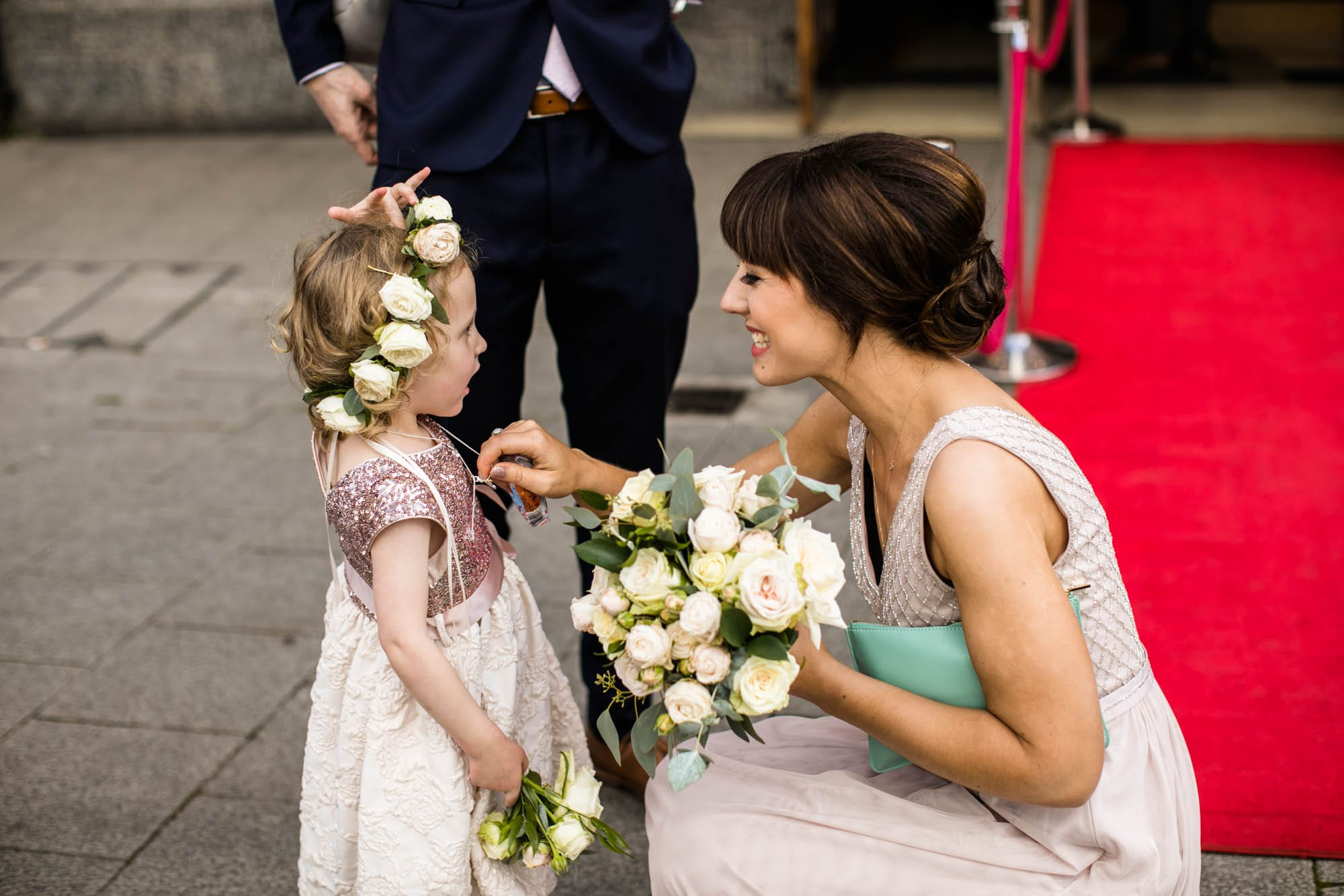Natural Wedding Photography Stockport Plaza