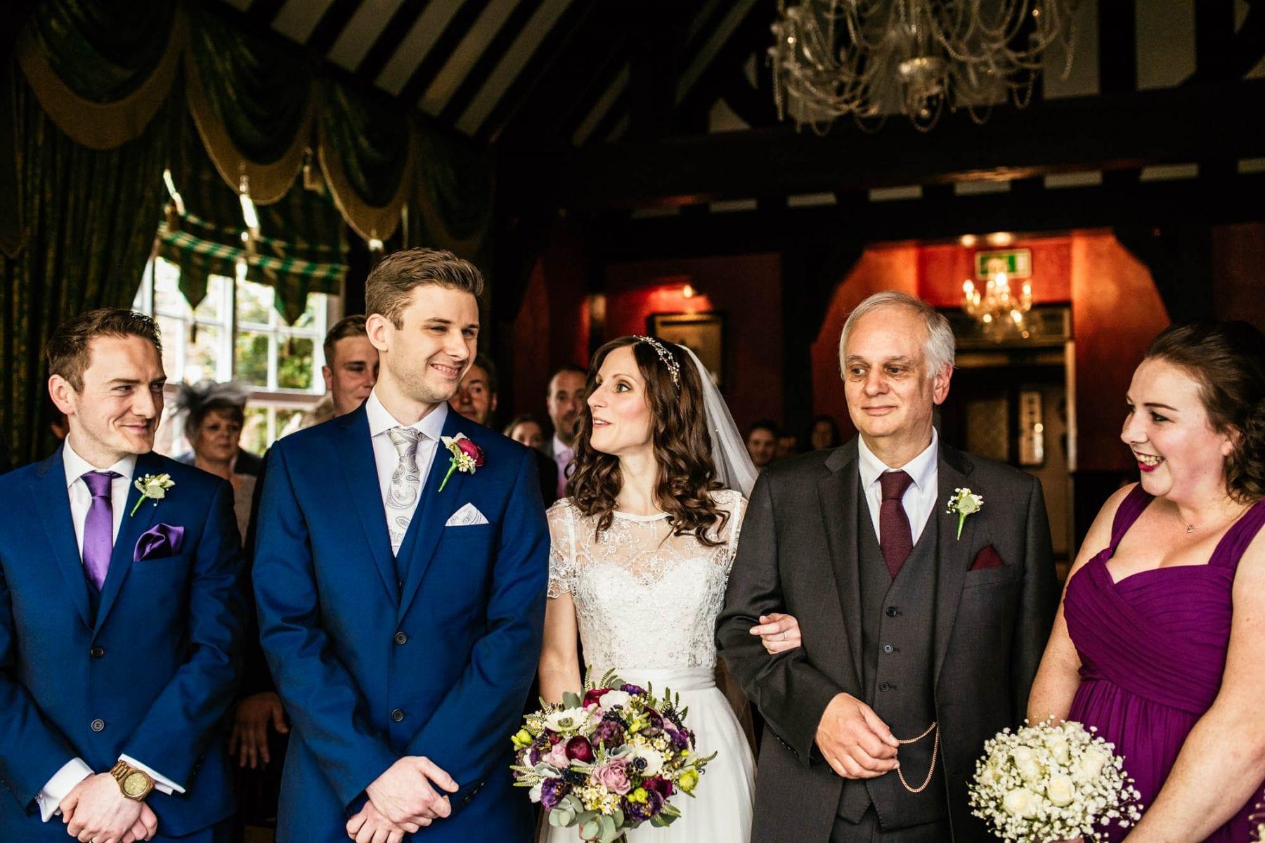 Wedding Ceremony Photos Mere Court Hotel