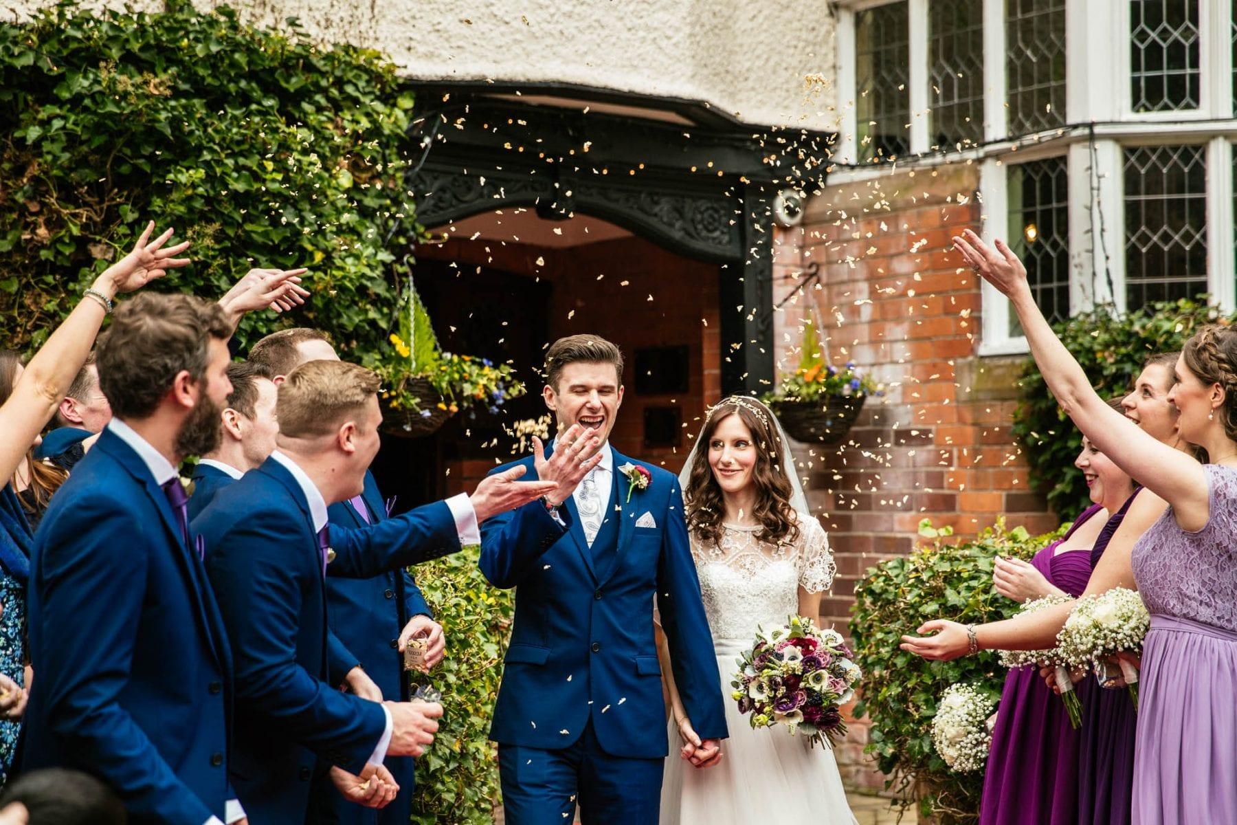 Mere Court Hotel Wedding Ceremony Photos