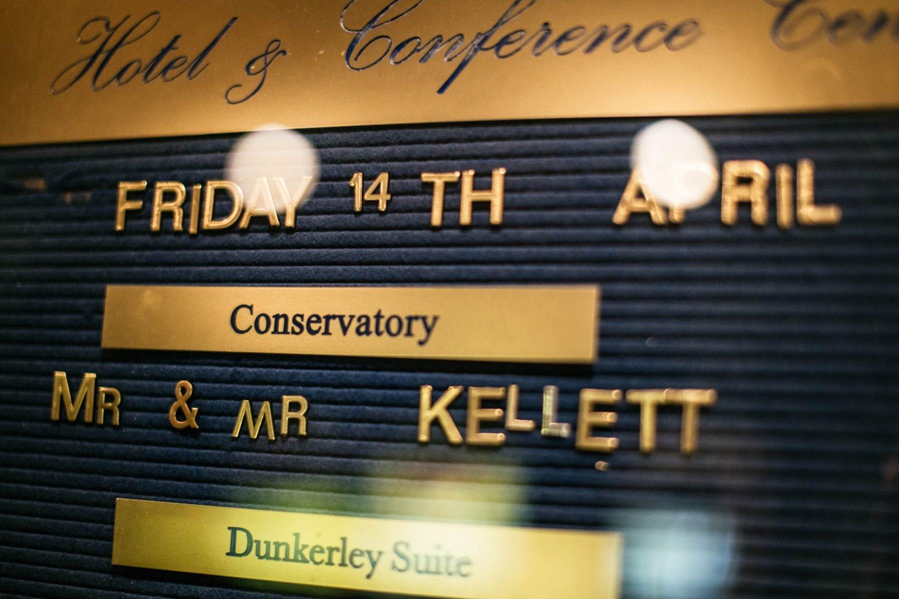 Reception Mere Court Hotel