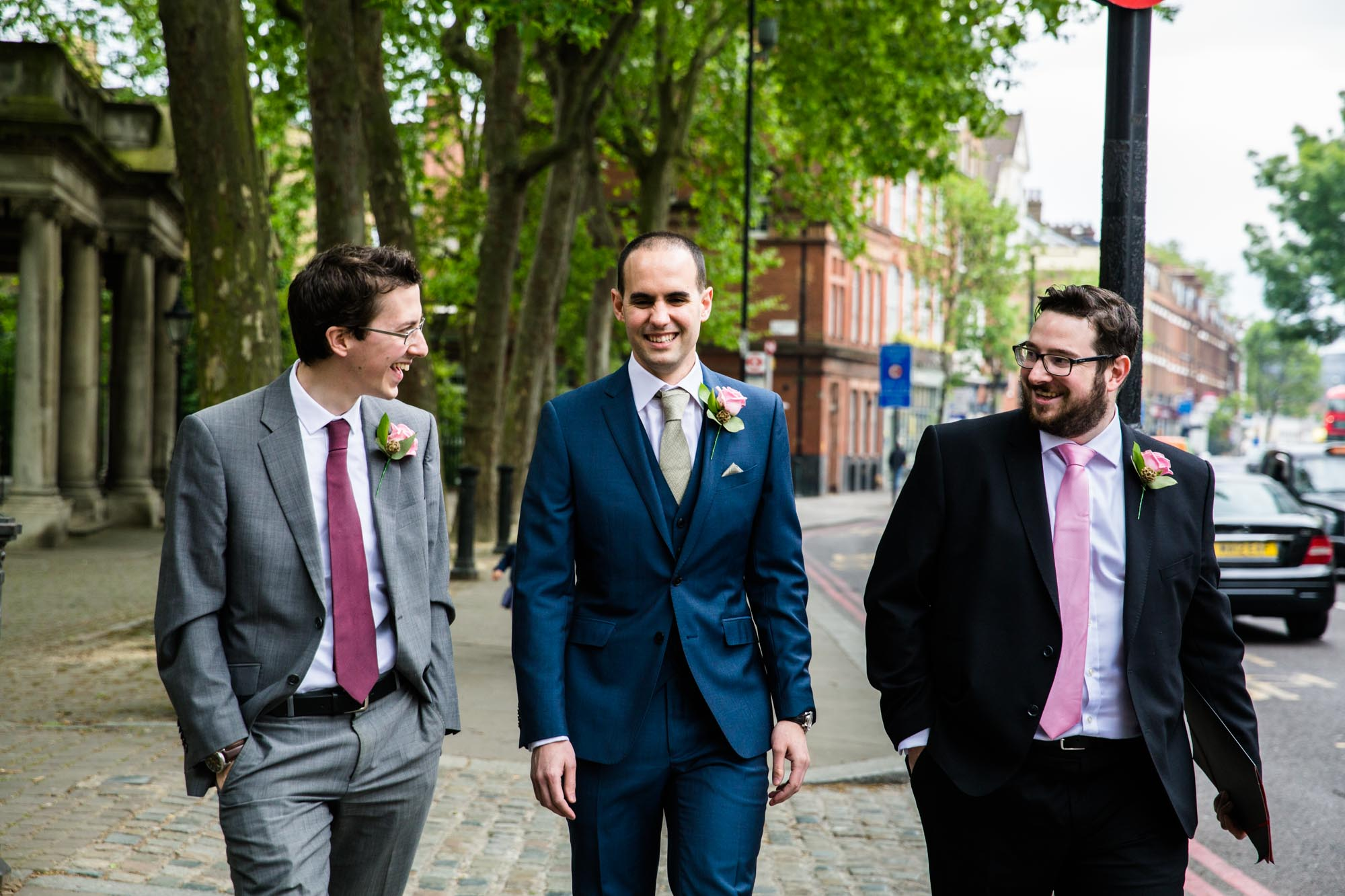 Malmaison London Natural Wedding Photographs