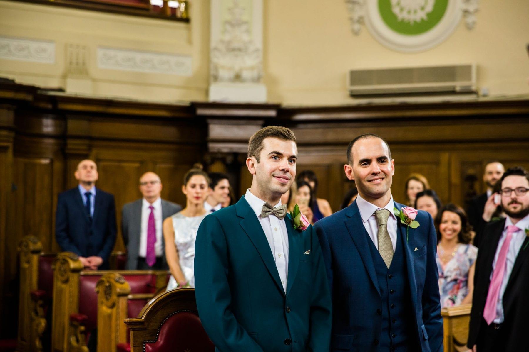 Islington Town Hall Wedding Ceremony