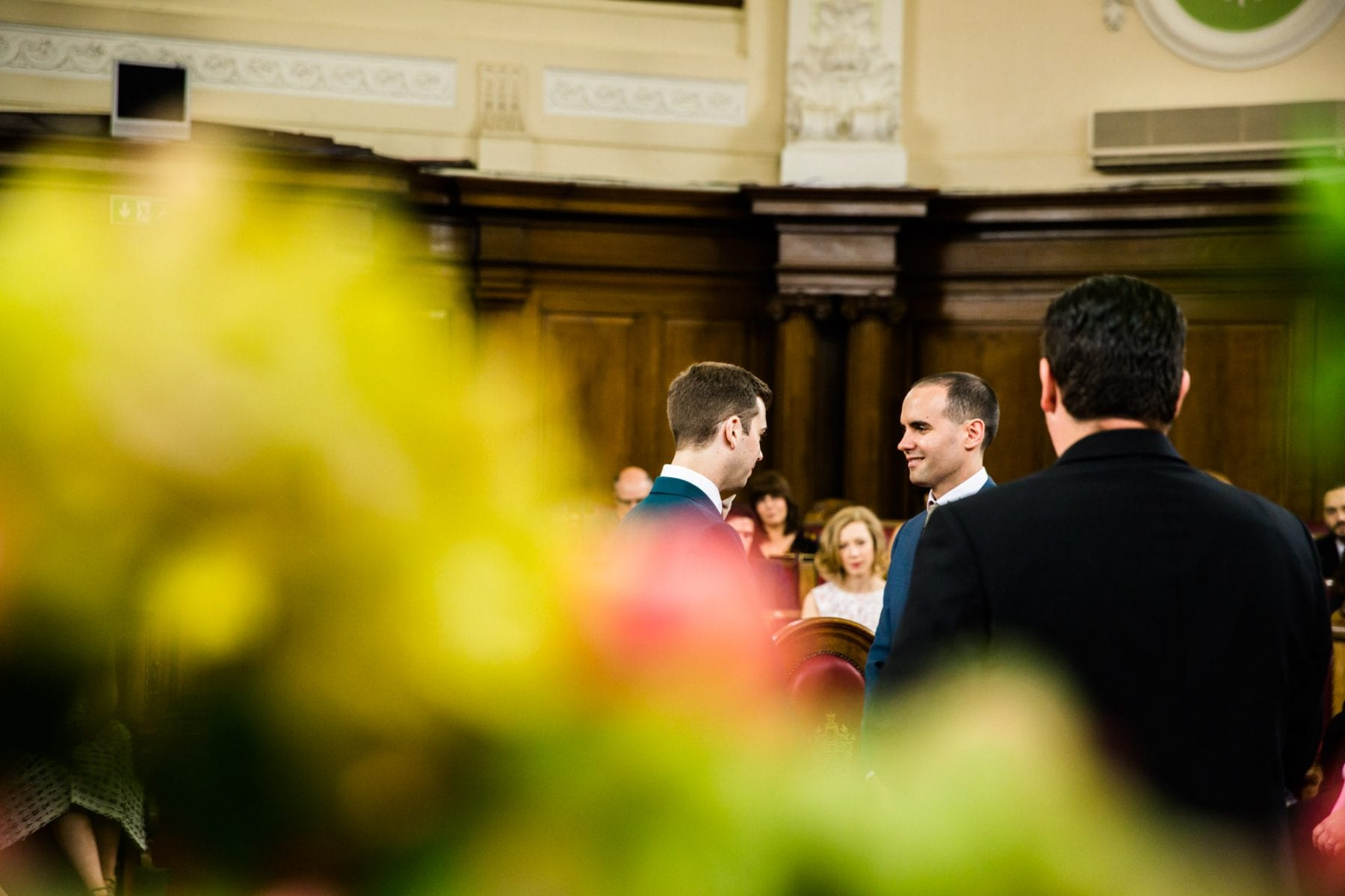 Islington Town Hall Wedding Ceremony Photos