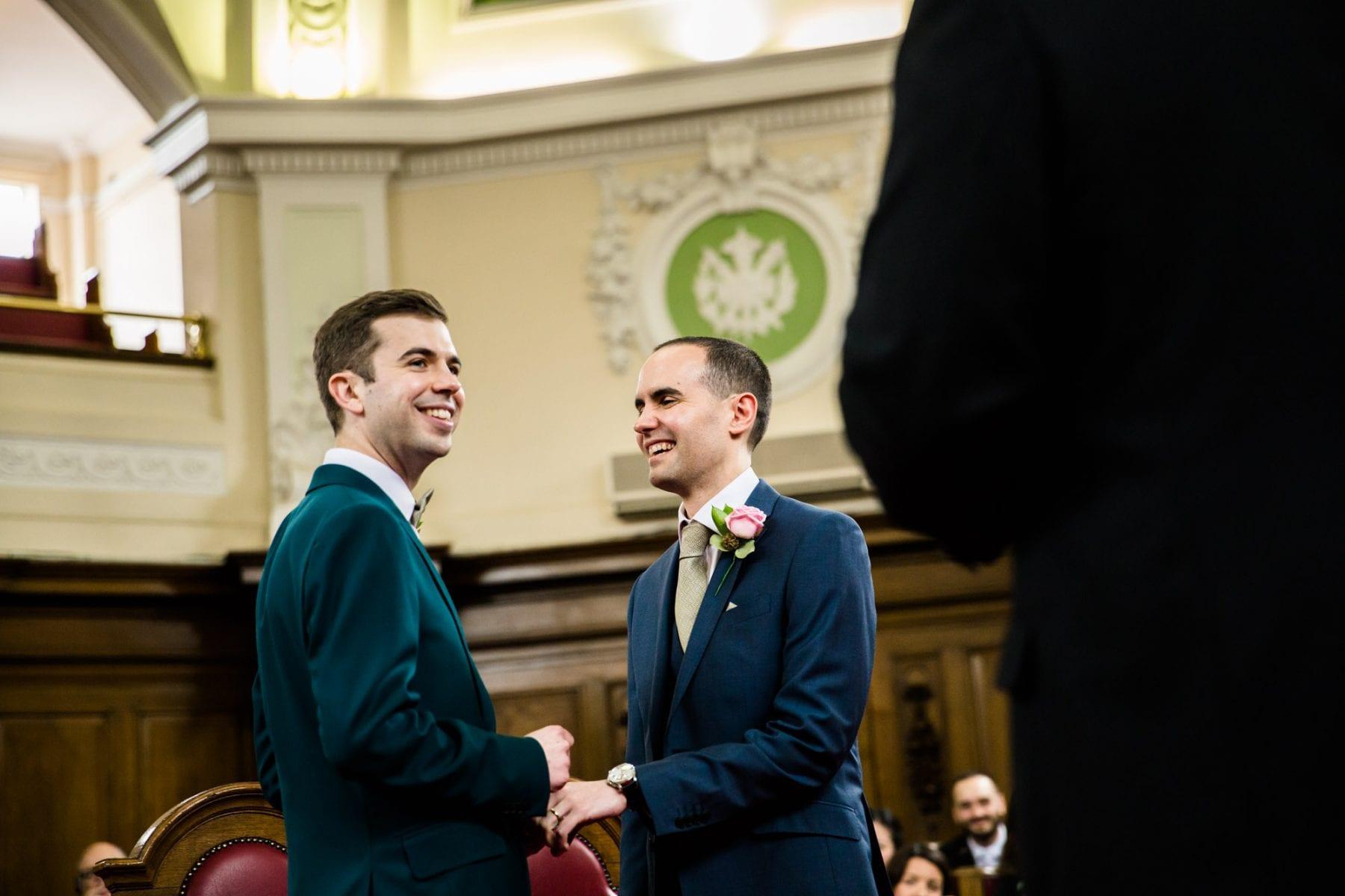 Islington Town Hall Wedding Ceremony Photographs