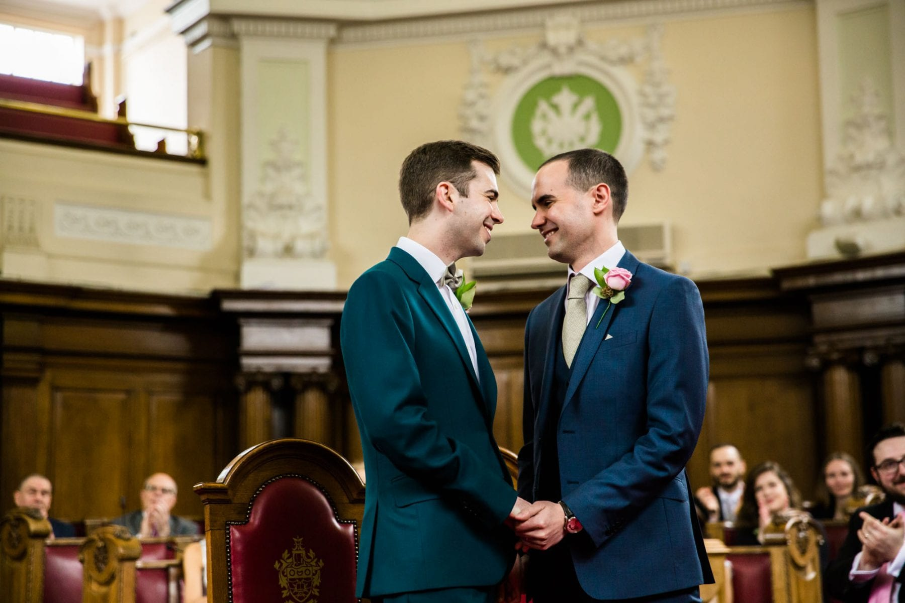 Islington Town Hall Wedding Ceremony Photography