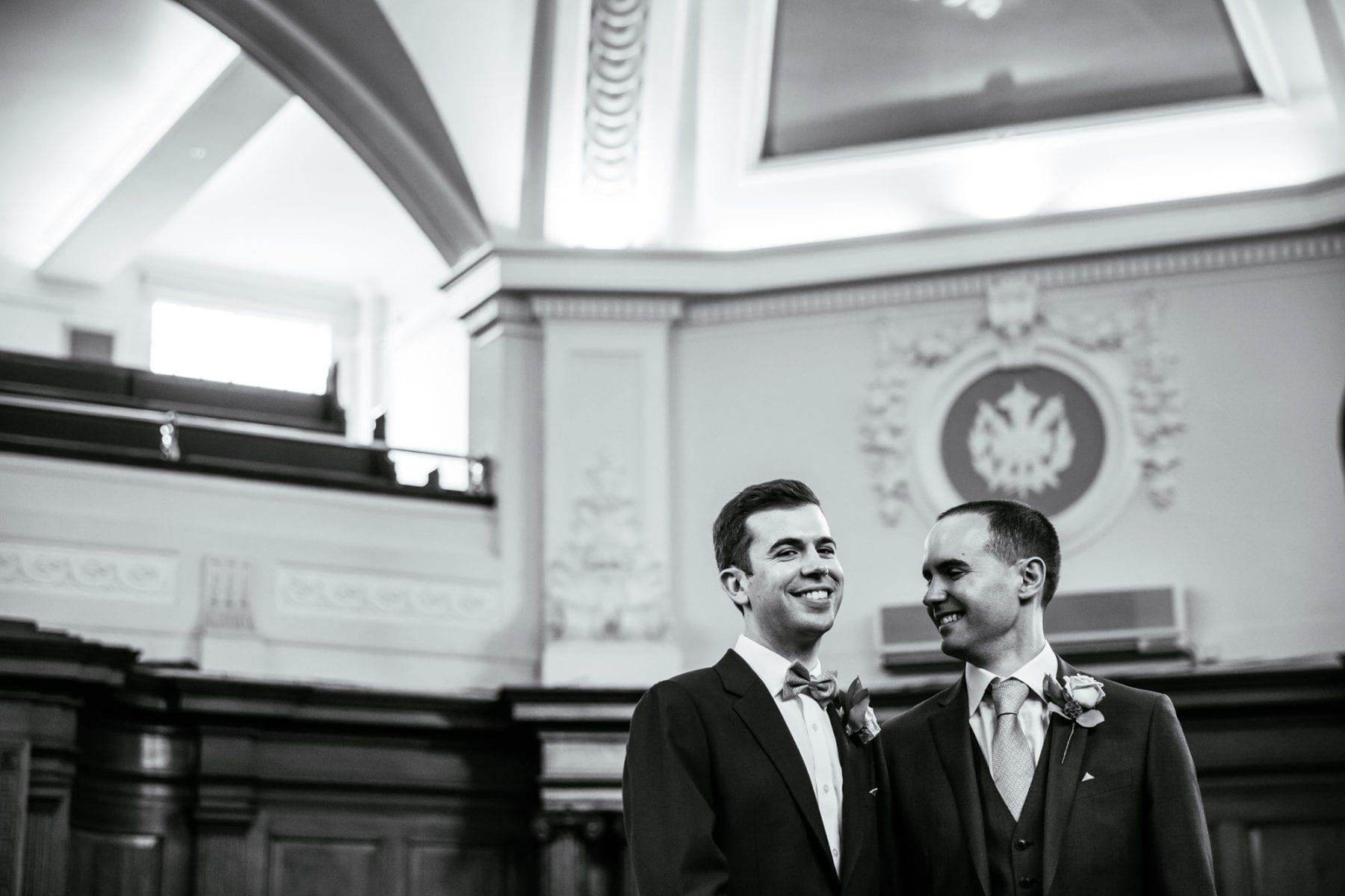 Islington Town Hall Wedding Ceremony Photographer