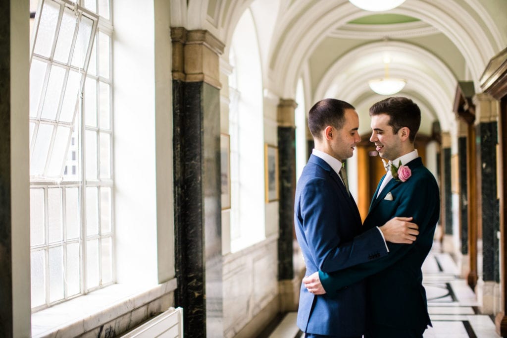 Islington Town Hall & Malmaison London Wedding