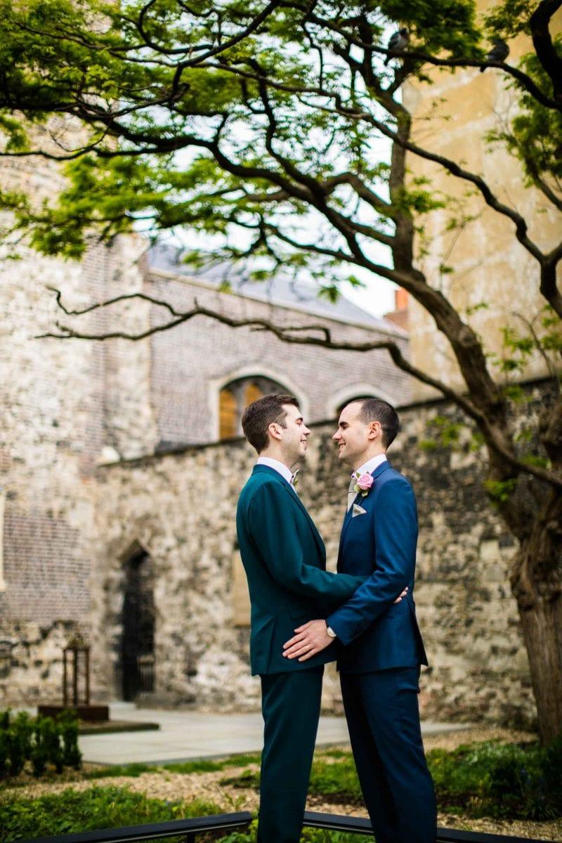 Malmaison London Colourful Wedding Photography