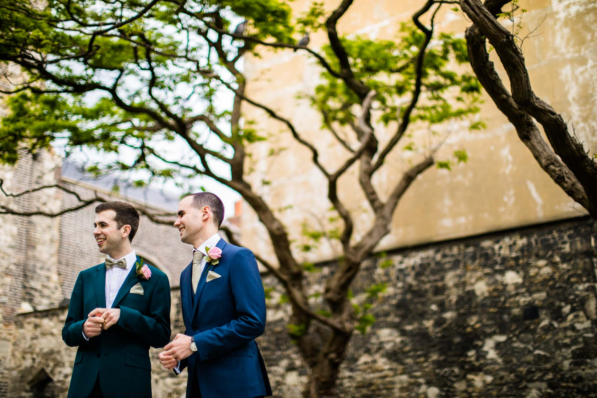 Malmaison London Colourful Wedding Photos
