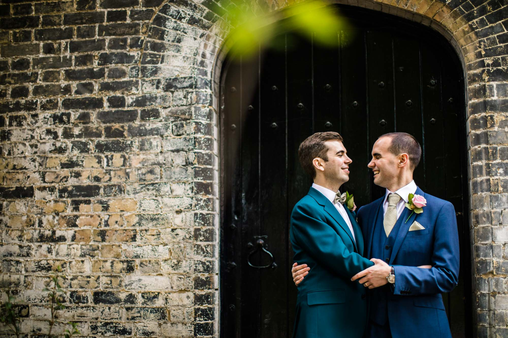 Colourful Wedding Photographs Malmaison London