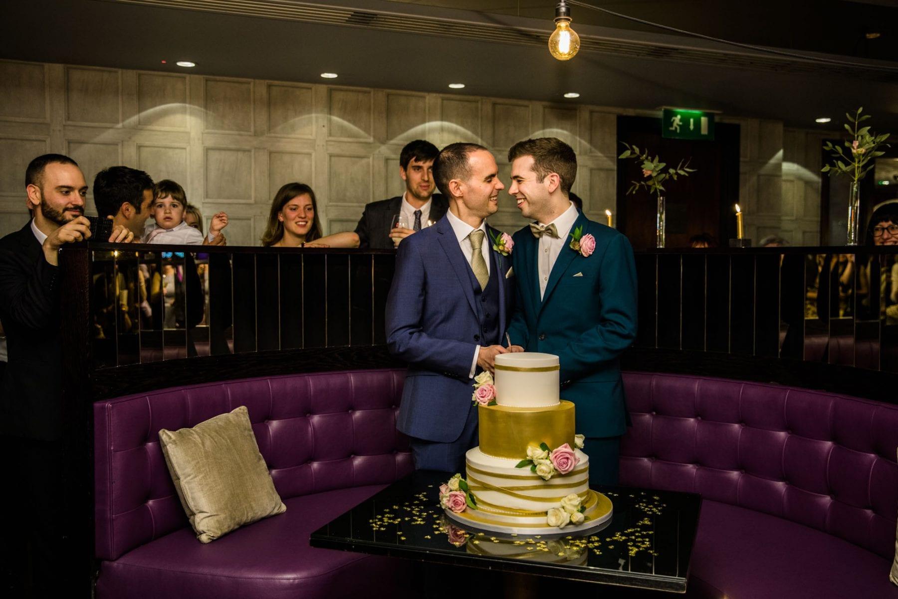 Fun Wedding Photos Malmaison London