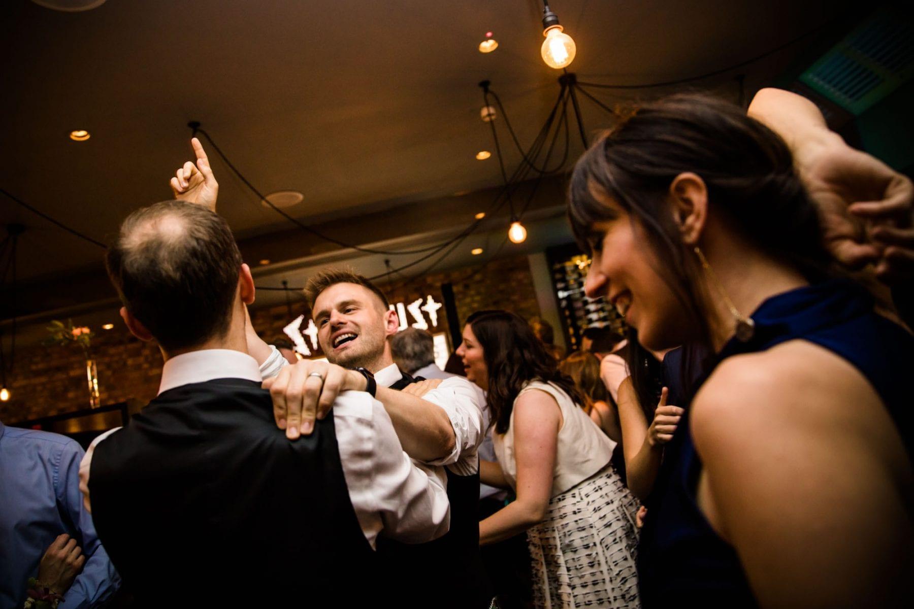 Malmaison London Fun Wedding Photographs