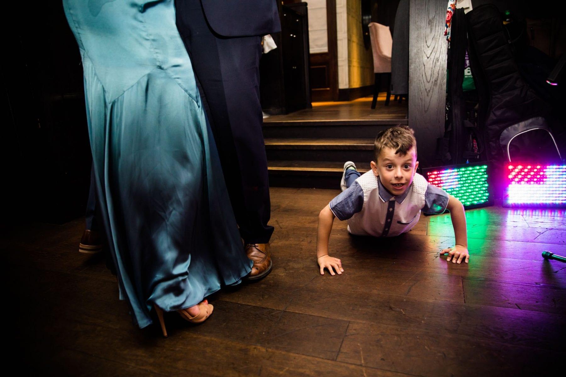 Malmaison London Fun Wedding Photography