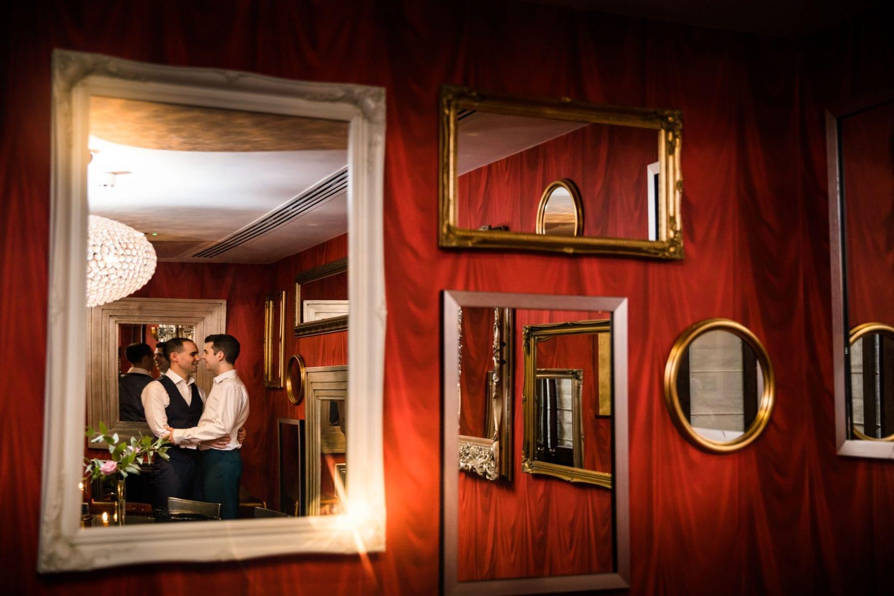 Malmaison London Quirky Wedding Photos