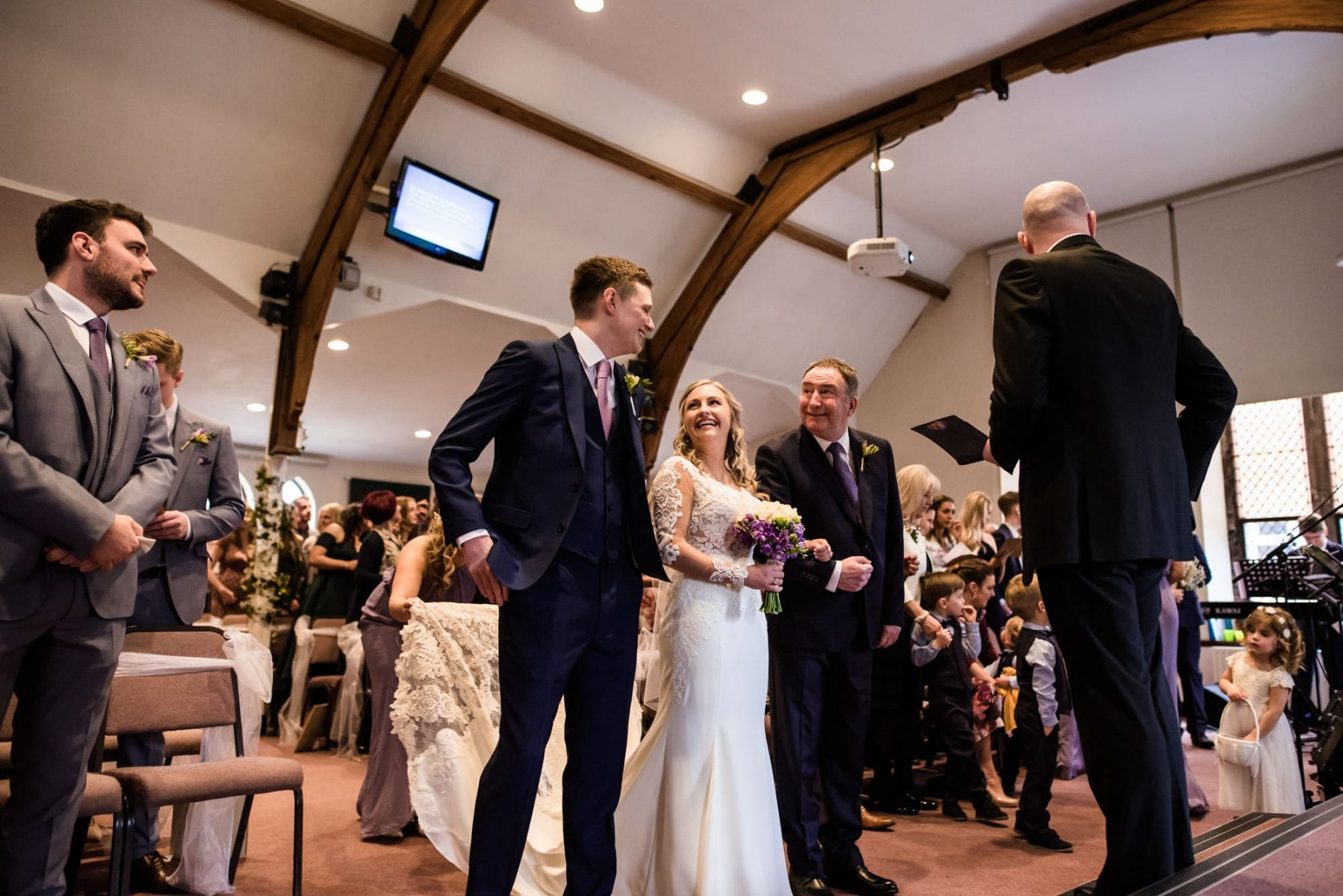 Lymm Baptist Church Wedding Ceremony