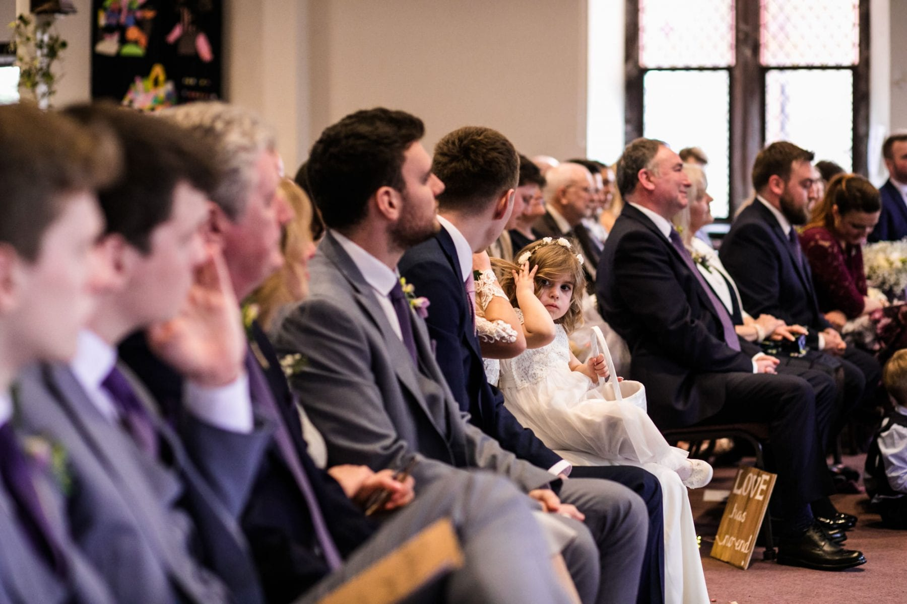 Lymm Baptist Church Wedding Photography