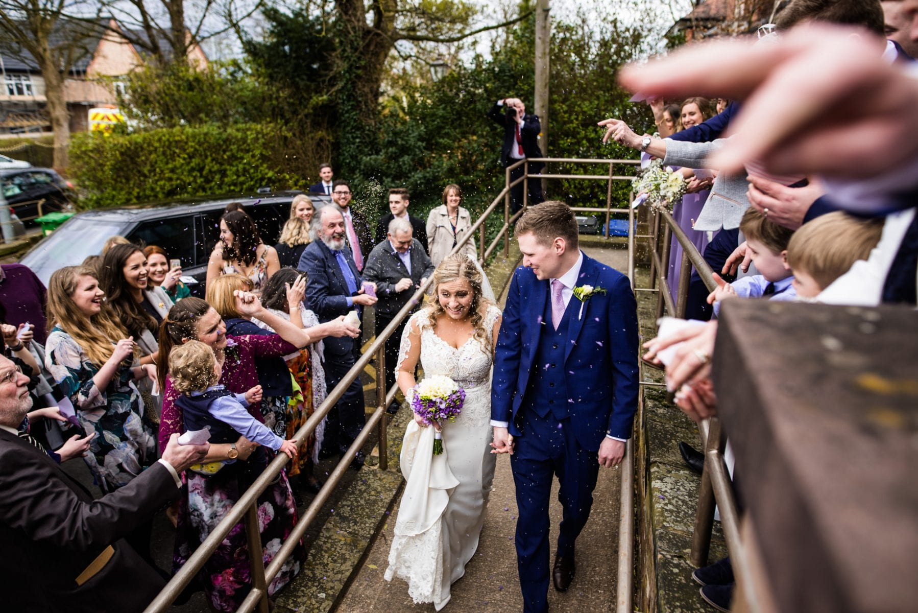 Wedding Photographs Lymm Baptist Church
