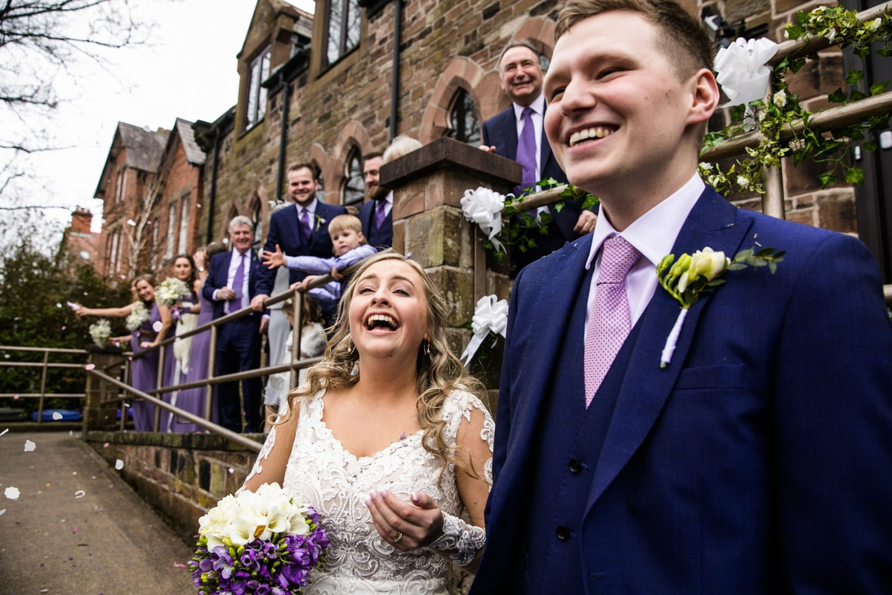 Wedding Photos Lymm Baptist Church