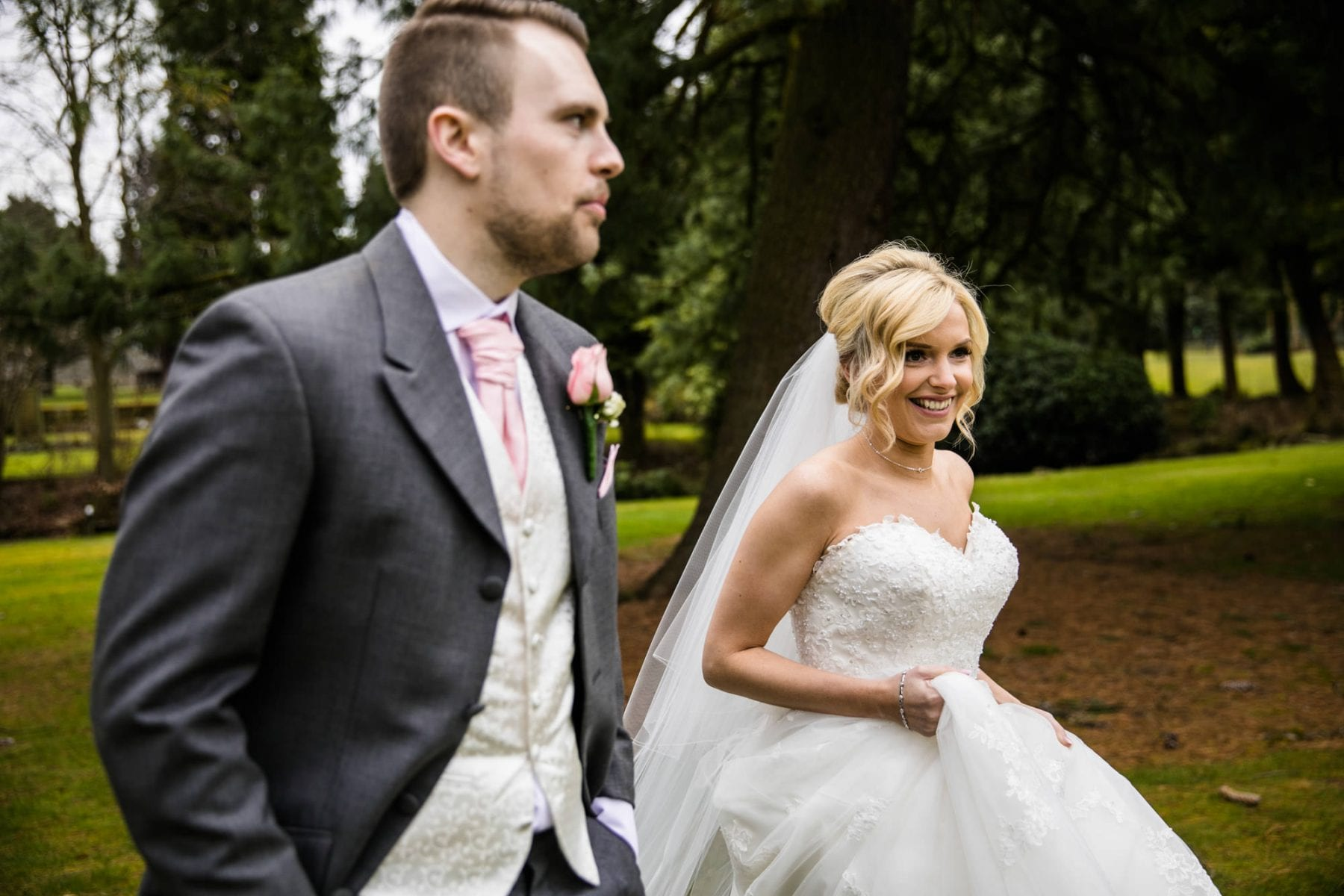 Creative Wedding Photographs Mottram Hall