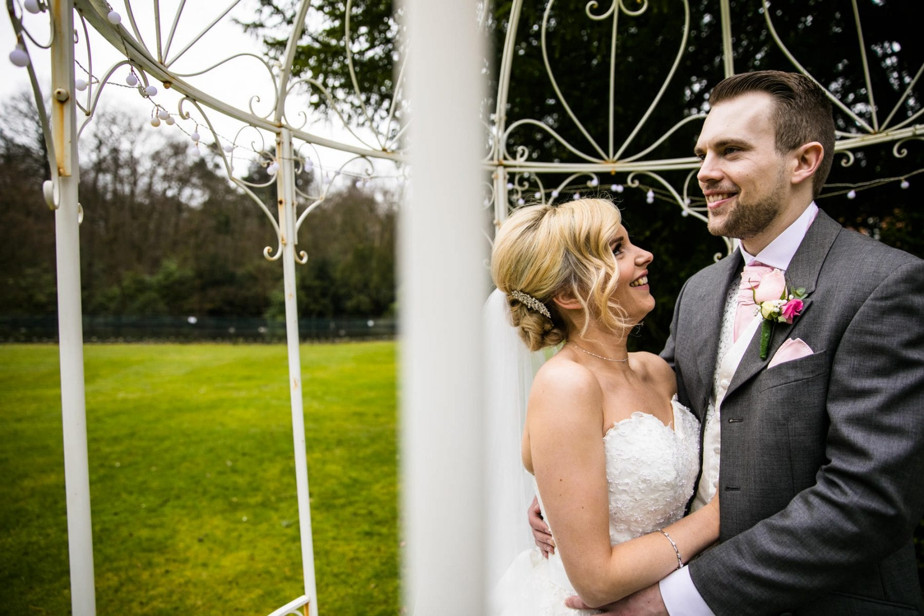Fun Wedding Photographs Mottram Hall